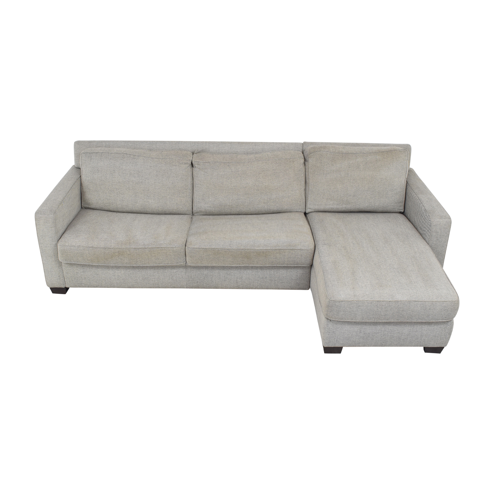 buy West Elm West Elm Henry Two Piece Full Sleeper Sectional Sofa with Storage online
