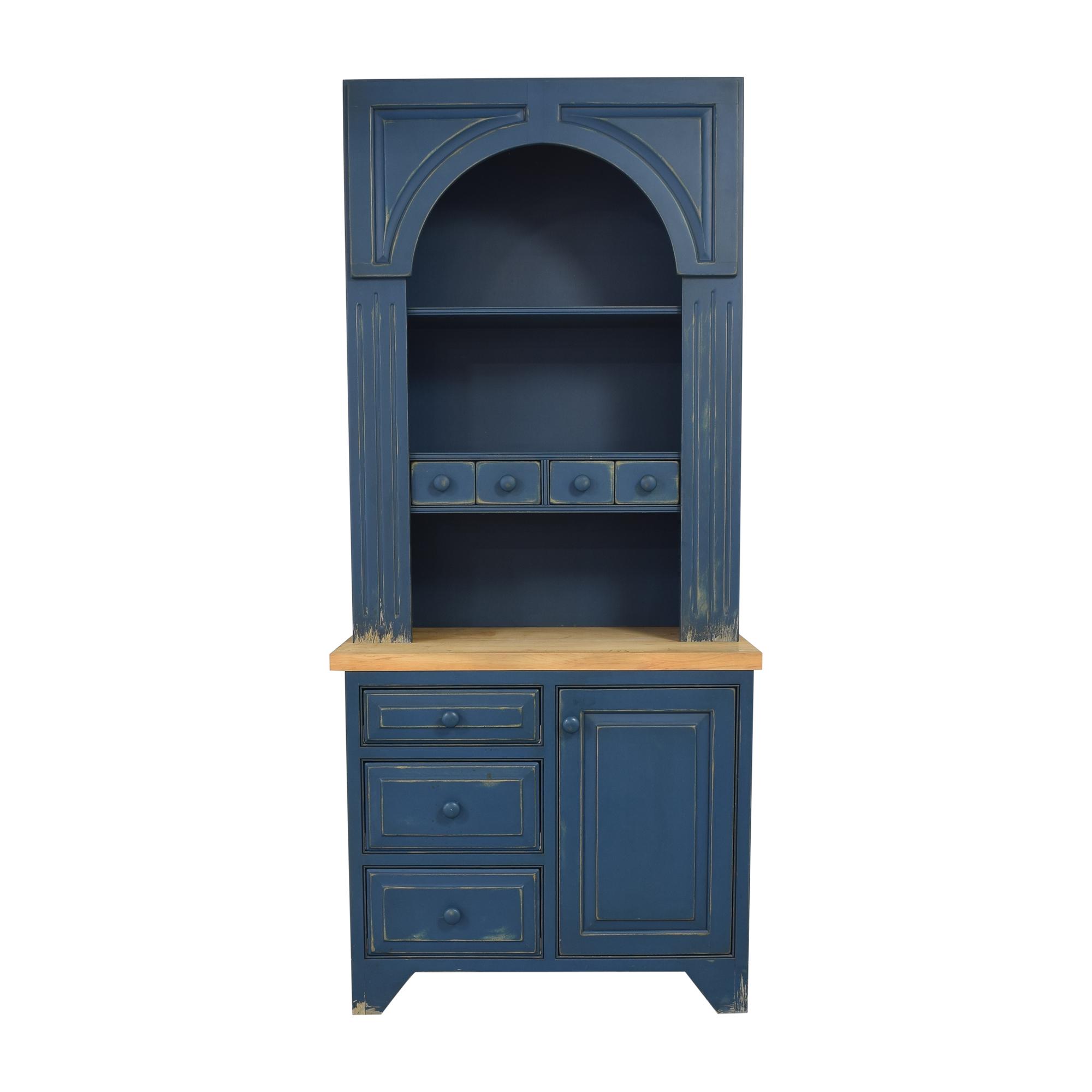 Plain & Fancy Plain & Fancy Hutch Cabinet used