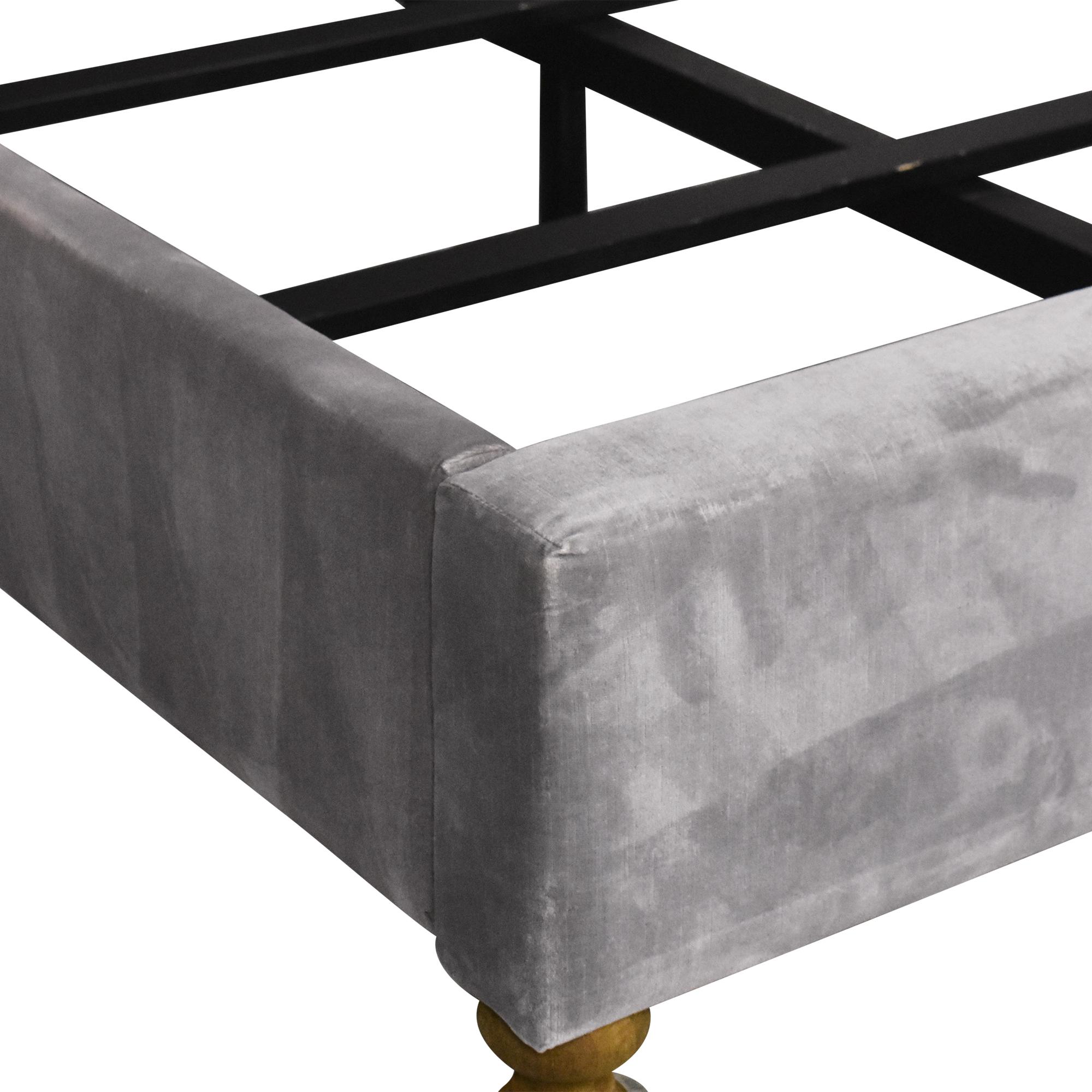 Restoration Hardware Chesterfield Panel Full Bed / Bed Frames
