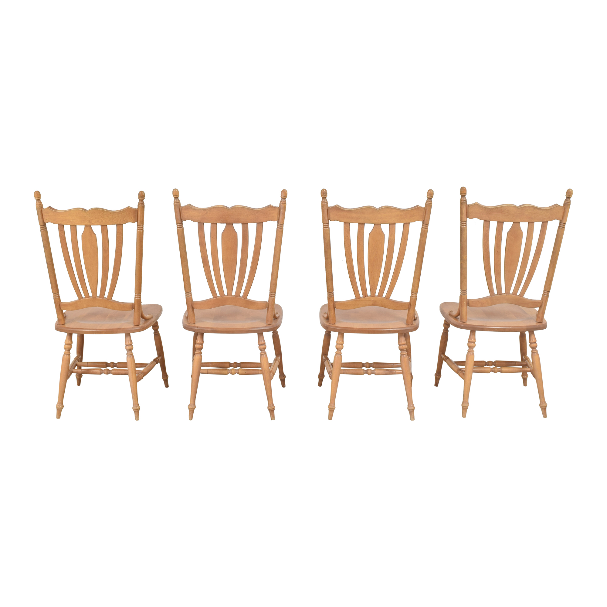 Canadel Canadel Rustic Dining Chairs nj