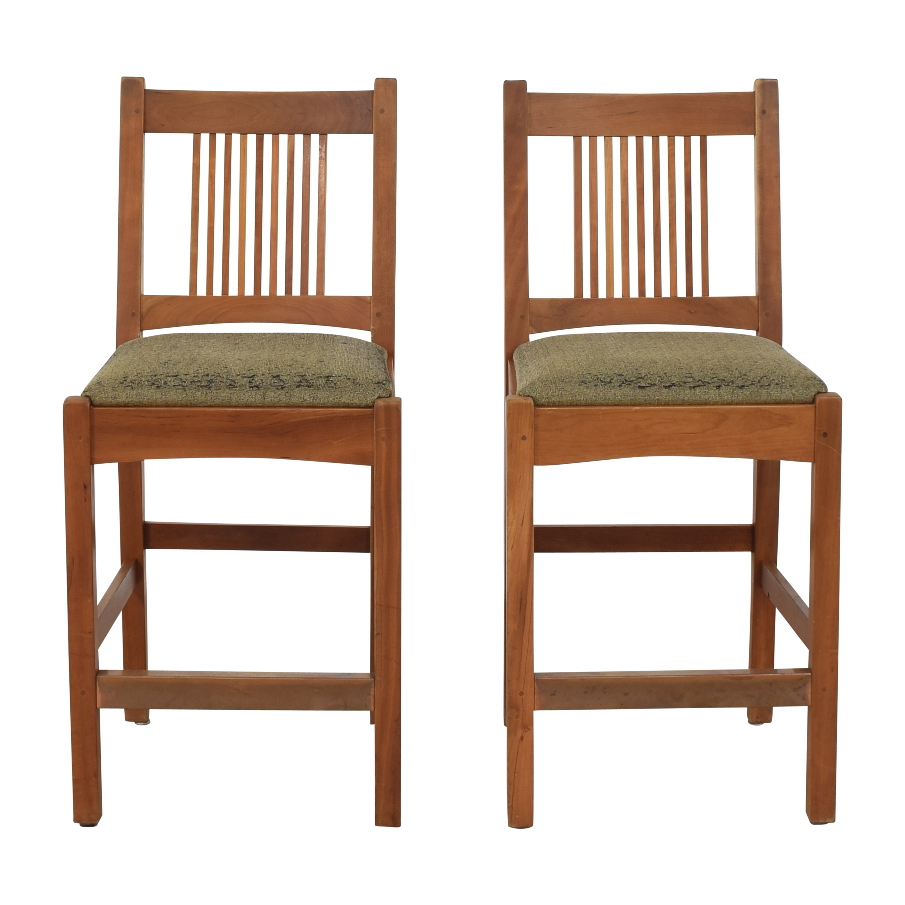 Stickley Furniture Stickley Furniture Mission Collection Spindle Counter Stools on sale