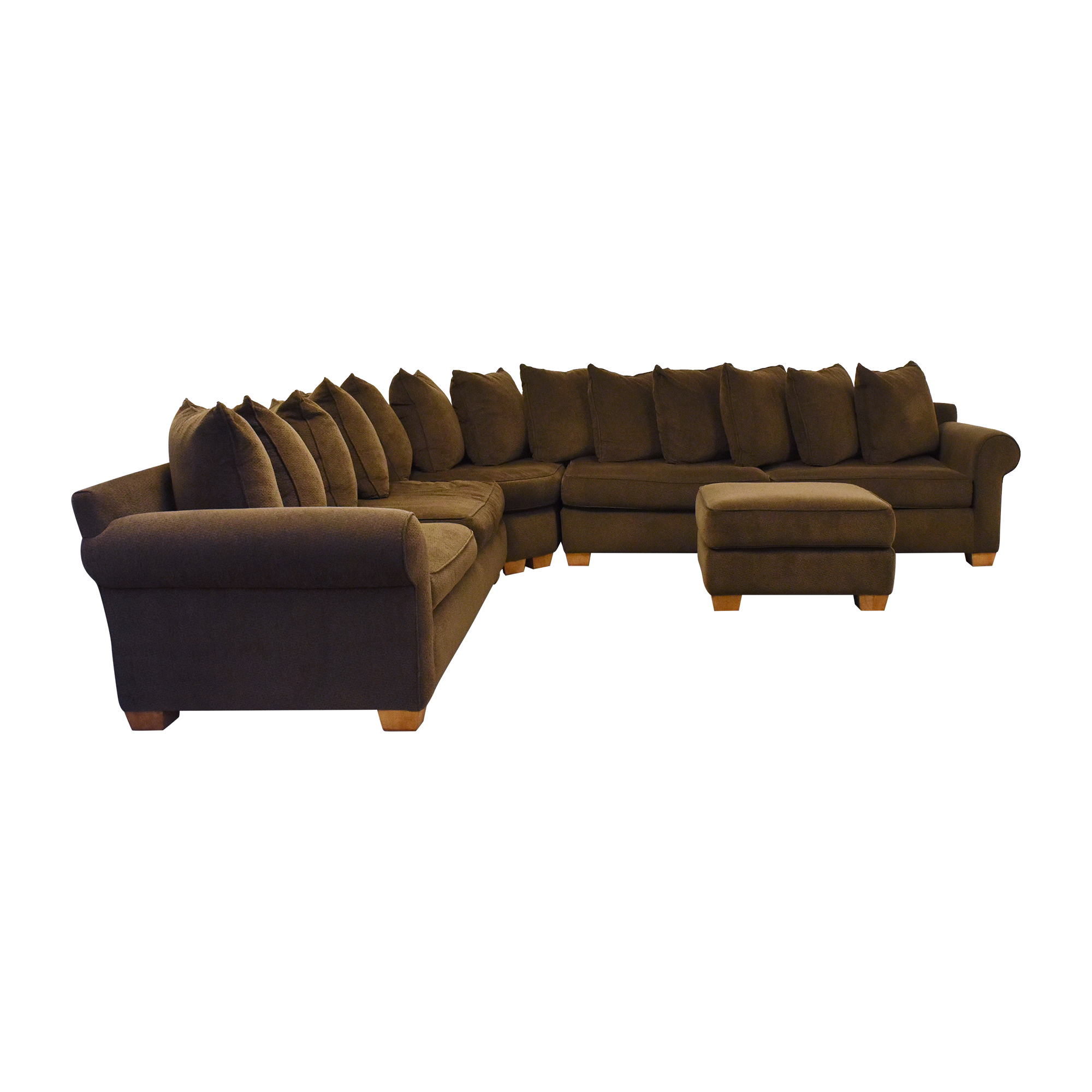 Roche Bobois Roche Bobois Corner Sectional Sofa with Ottoman Sofas