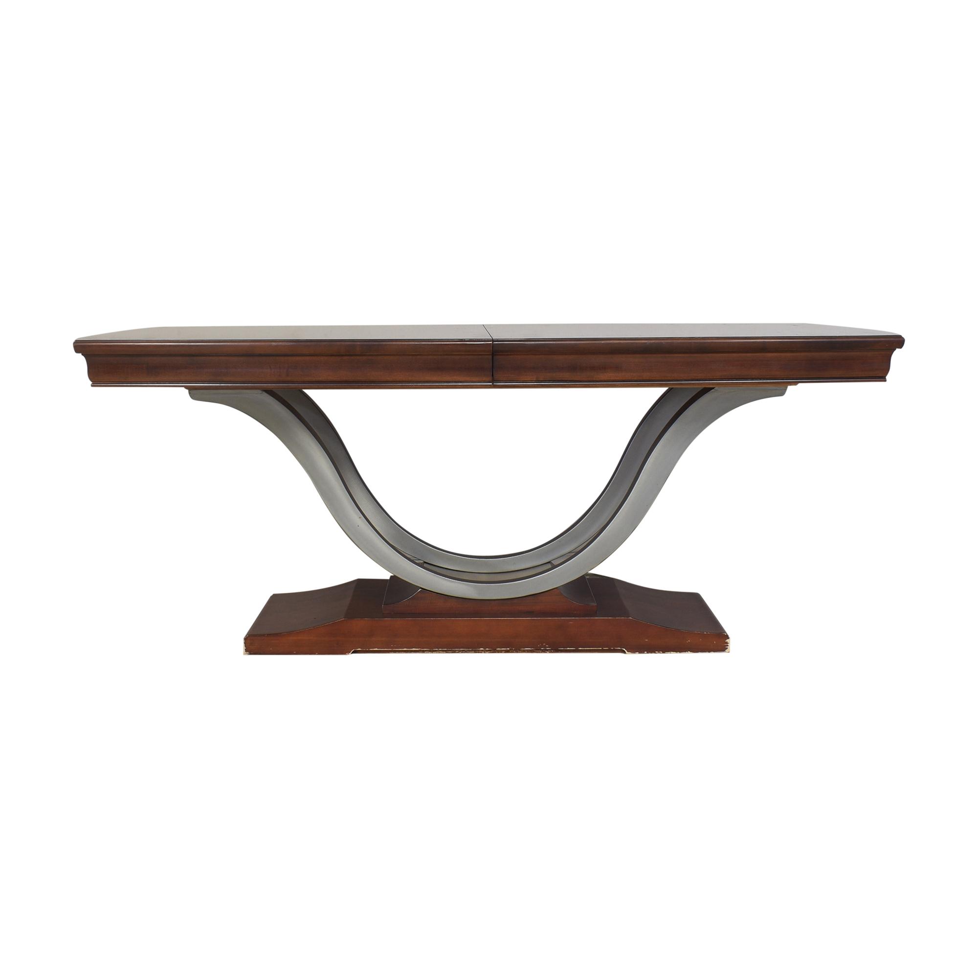 Bernhardt Bernhardt Paris Collection Extendable Dining Table Tables