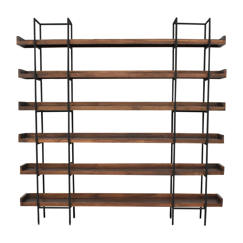 shop Crate & Barrel Beckett Six-High Shelf Crate & Barrel