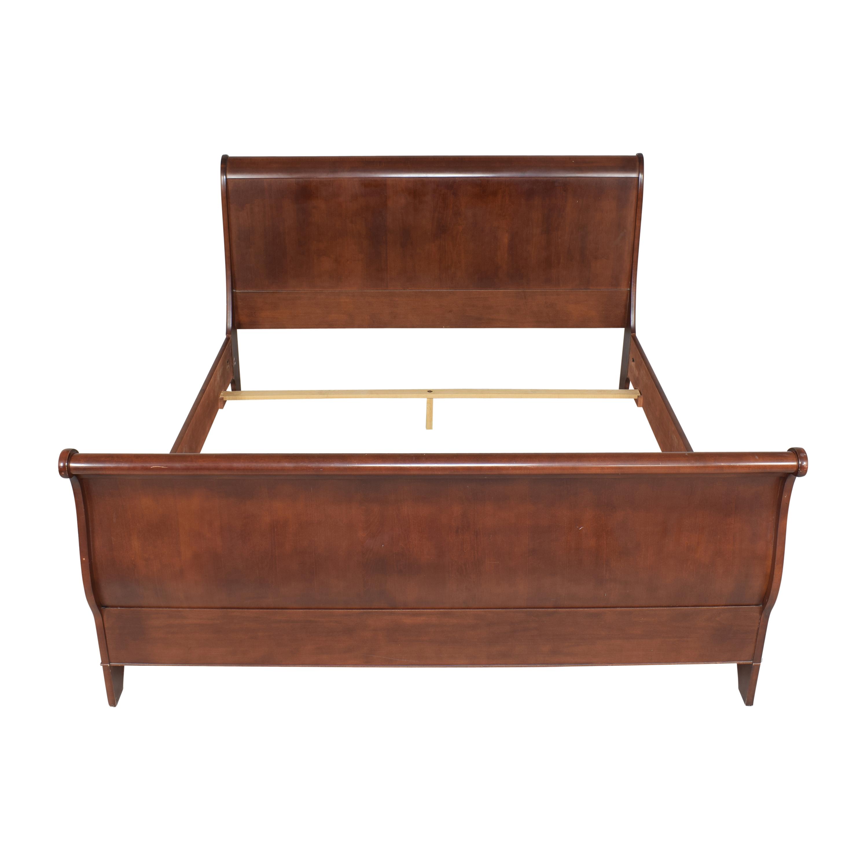 Macy's Macy's California King Sleigh Bed used