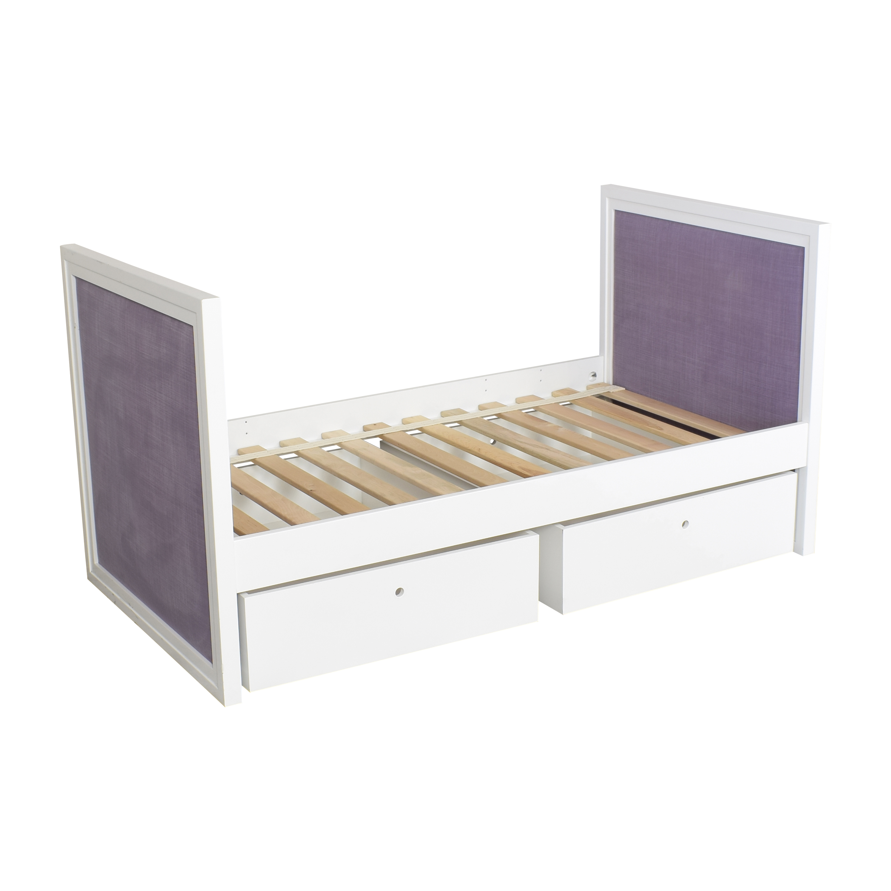 ducduc ducduc Cabana Upholstered Twin Daybed with Storage ct