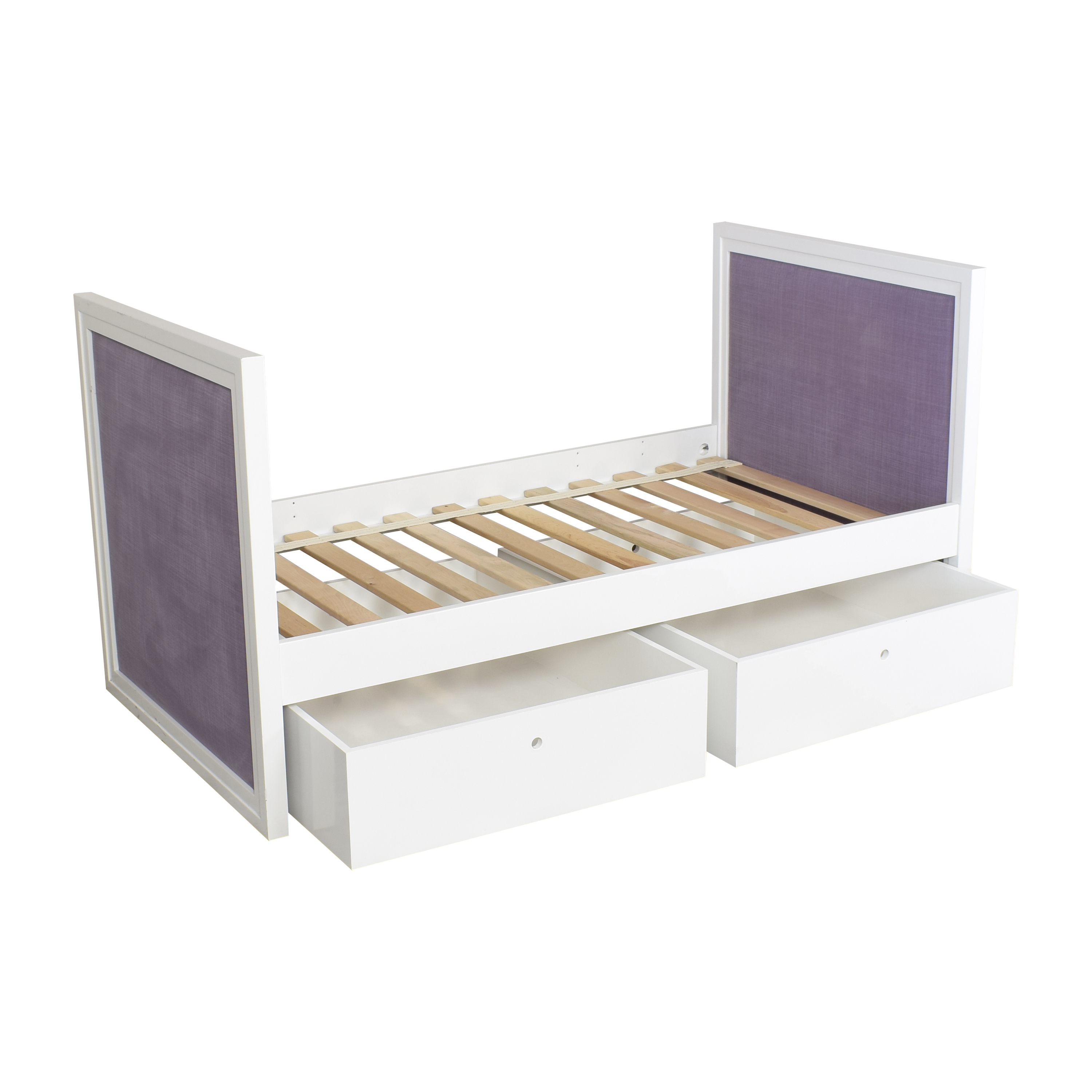 buy ducduc Cabana Upholstered Twin Daybed with Storage ducduc