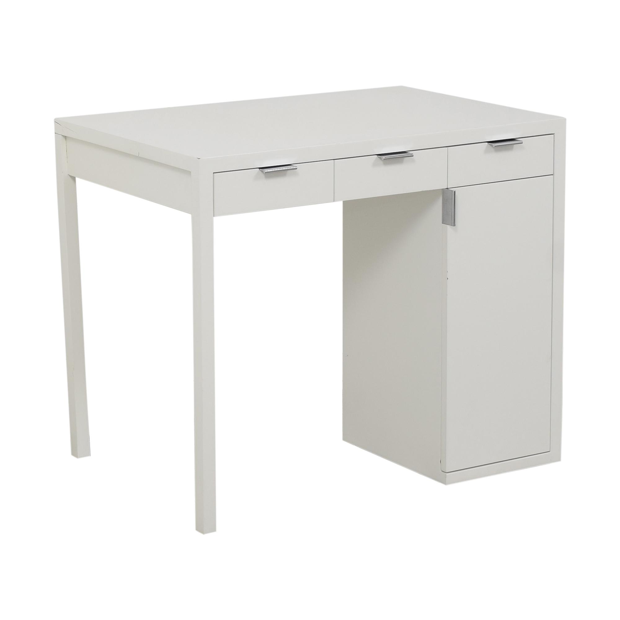Custom Desk with Storage
