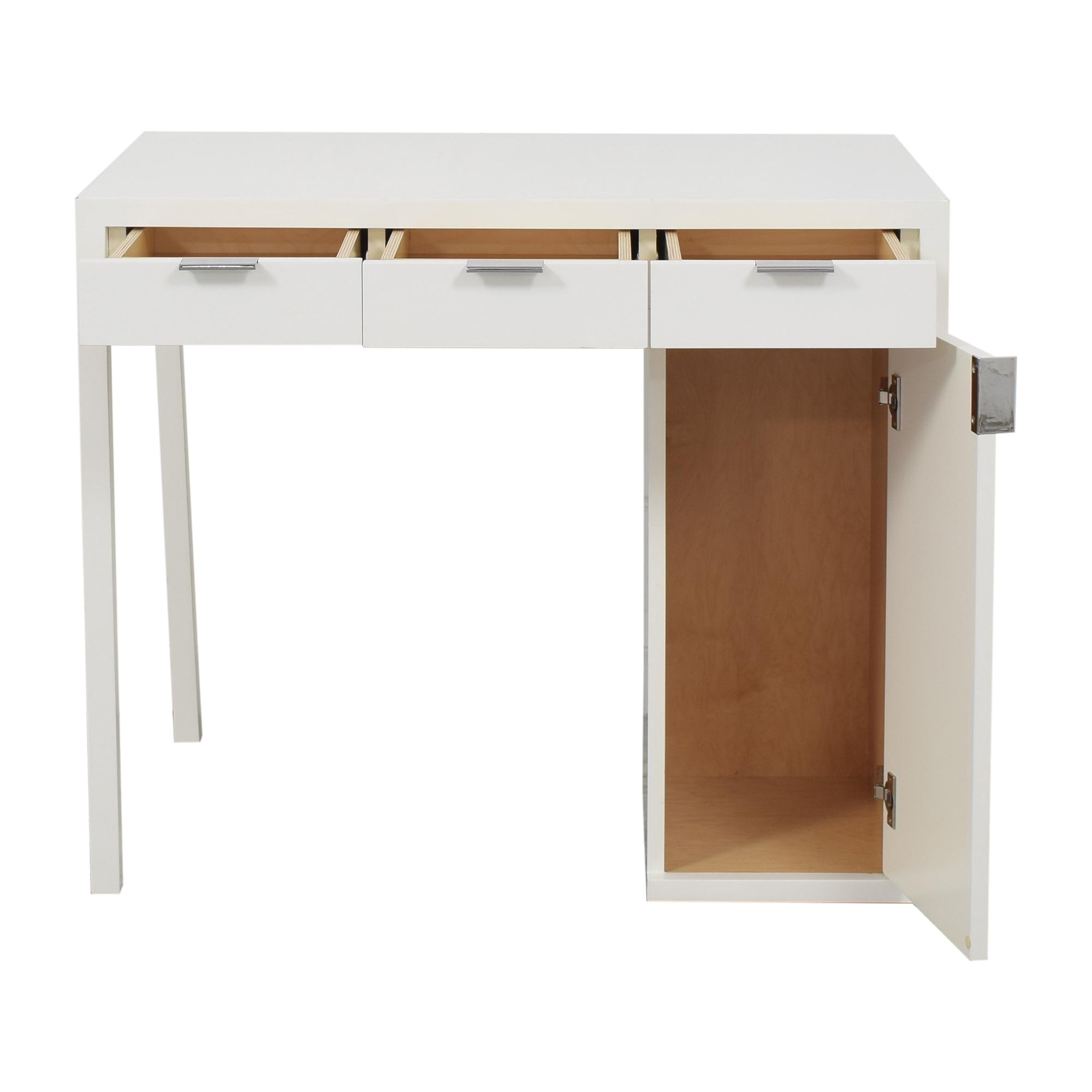 Custom Desk with Storage second hand