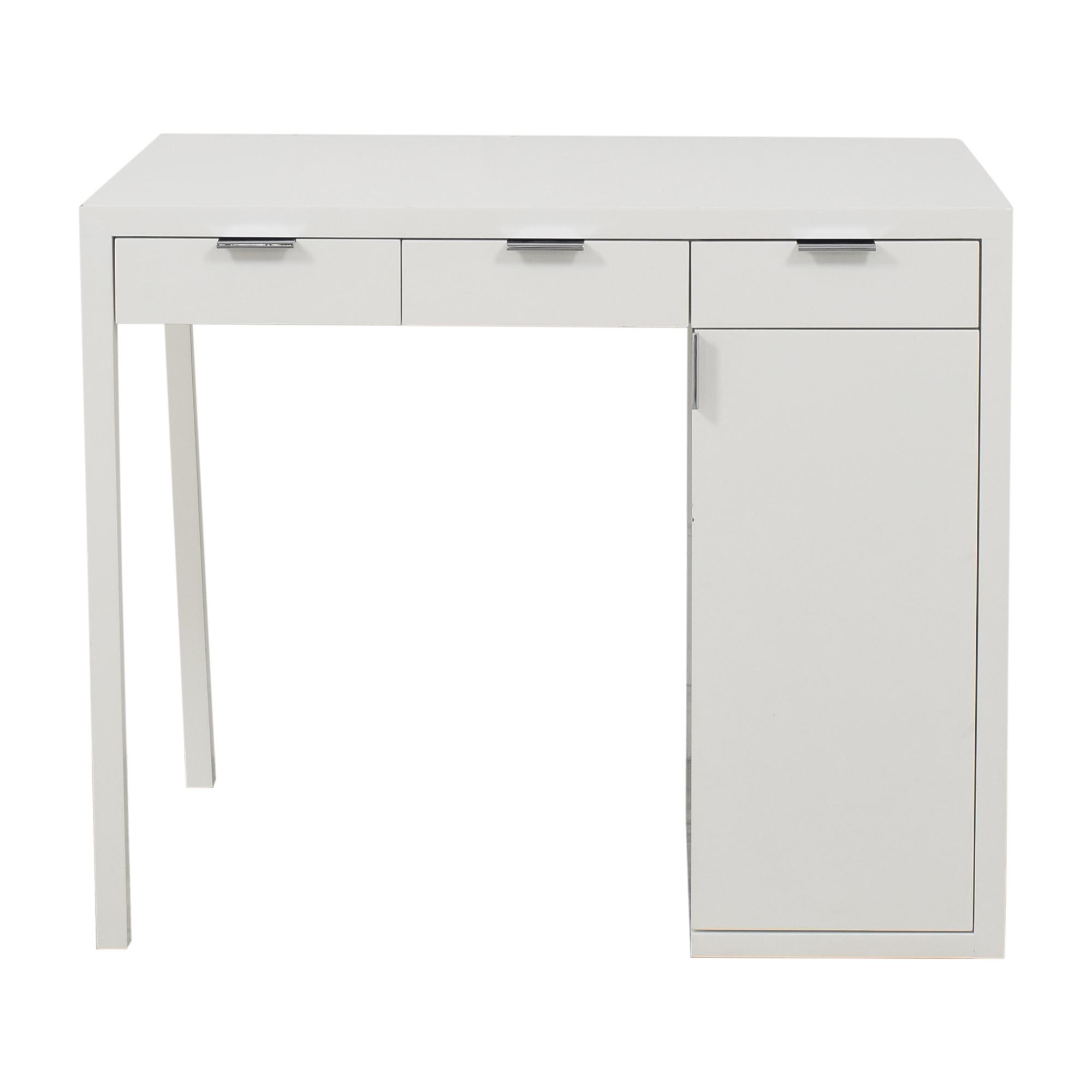 Custom Desk with Storage ct
