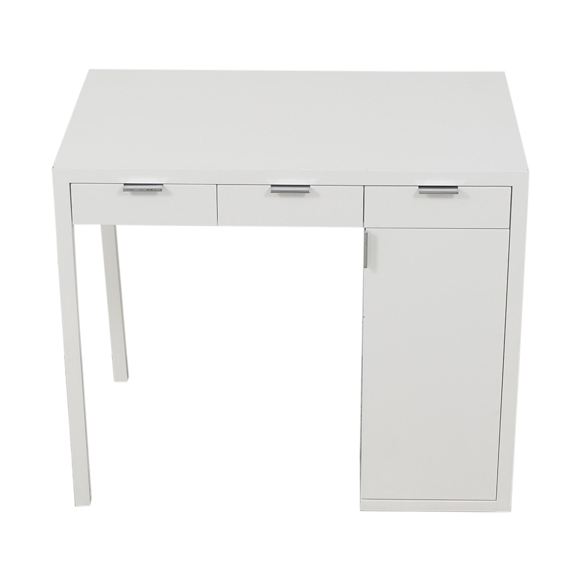 Custom Desk with Storage on sale