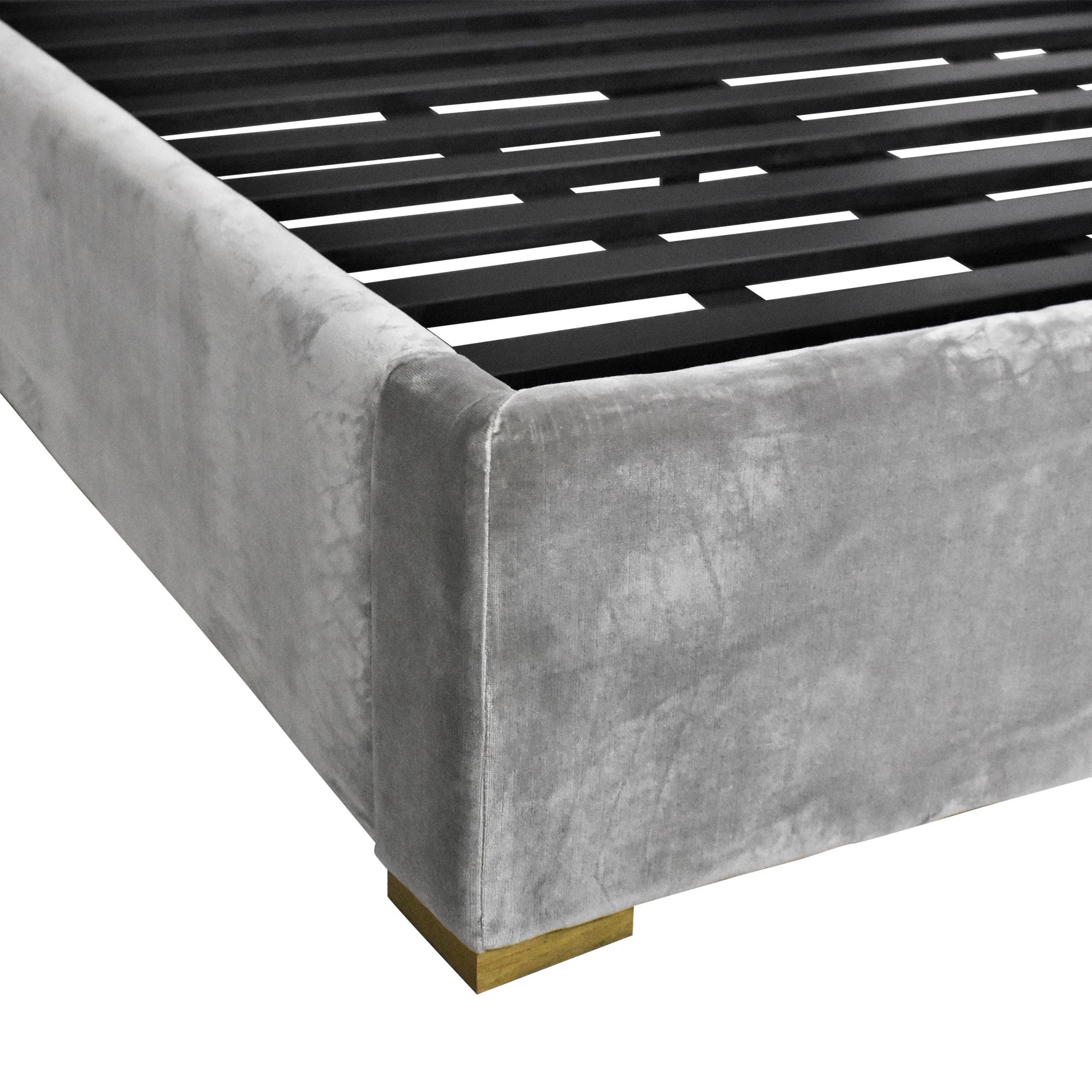 Restoration Hardware Landis Quilted Full Bed / Beds
