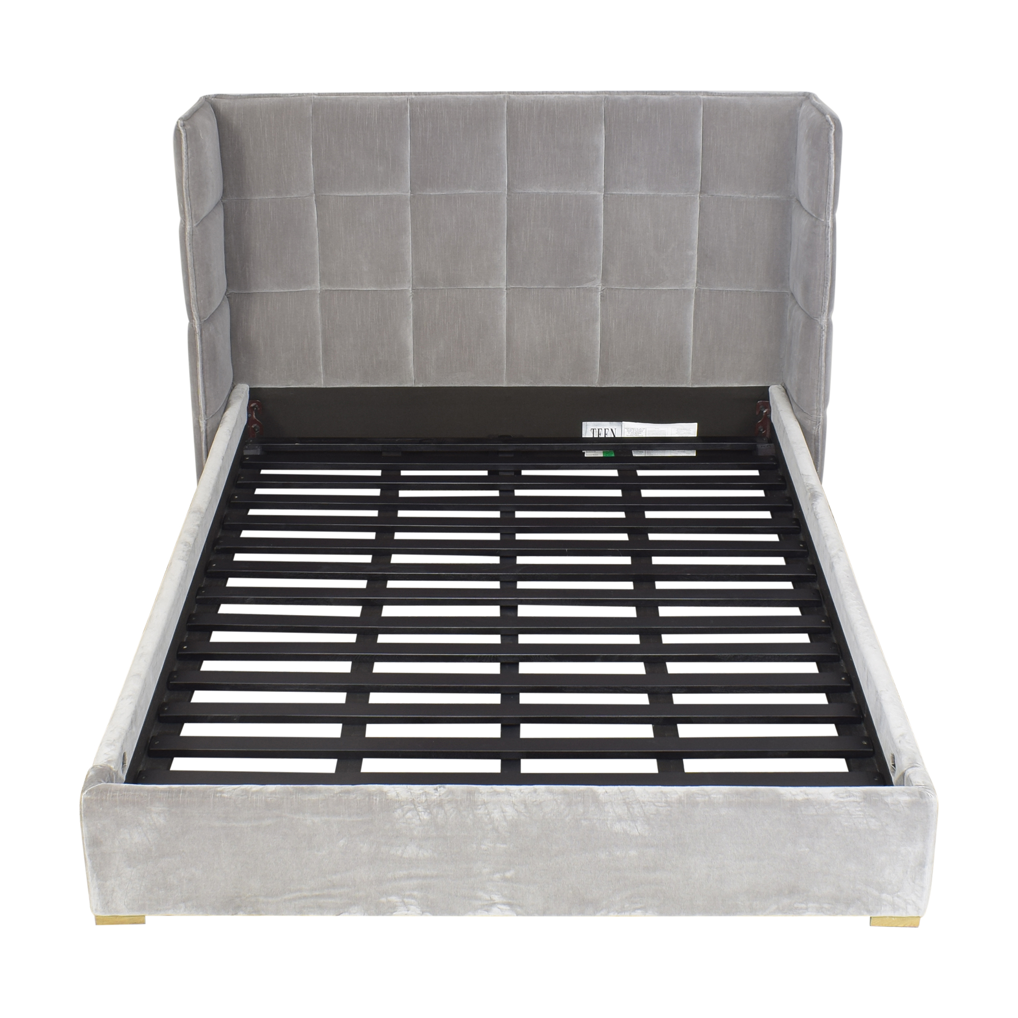 buy Restoration Hardware Landis Quilted Full Bed Restoration Hardware Beds