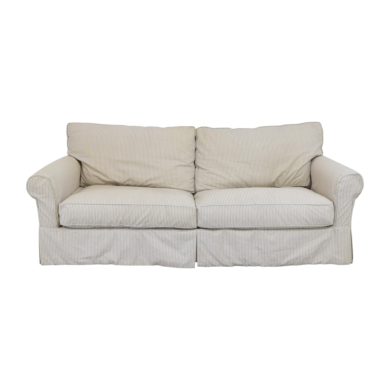 Crate & Barrel Crate & Barrel Slipcovered Sleeper Sofa  Sofa Beds