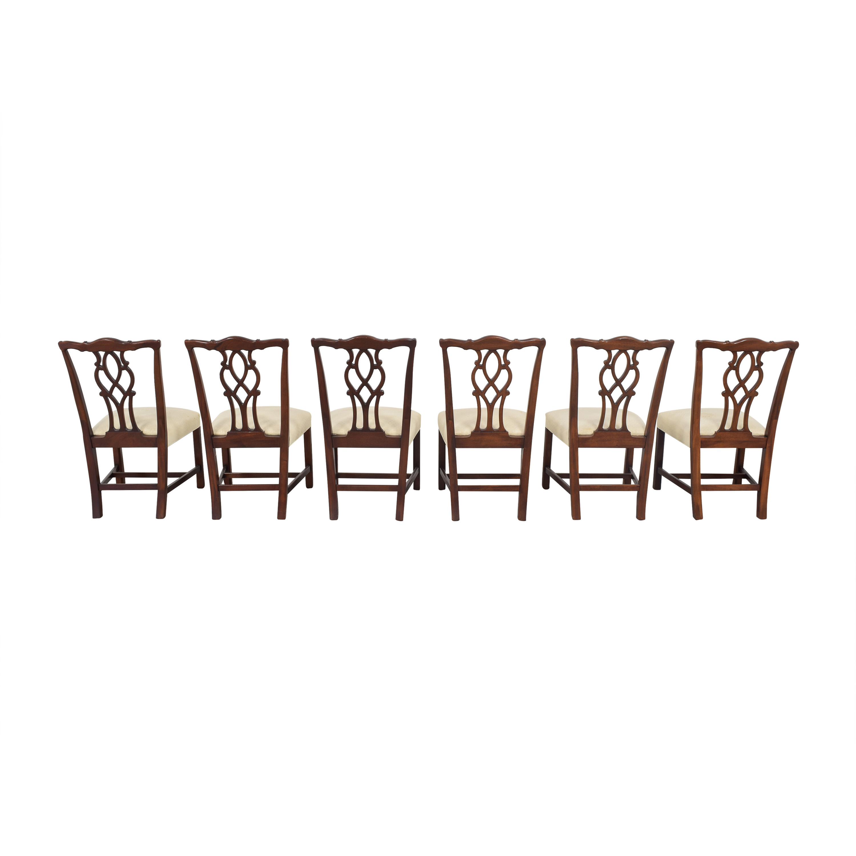 Kindel Kindel Chippendale Dining Side Chairs Dining Chairs