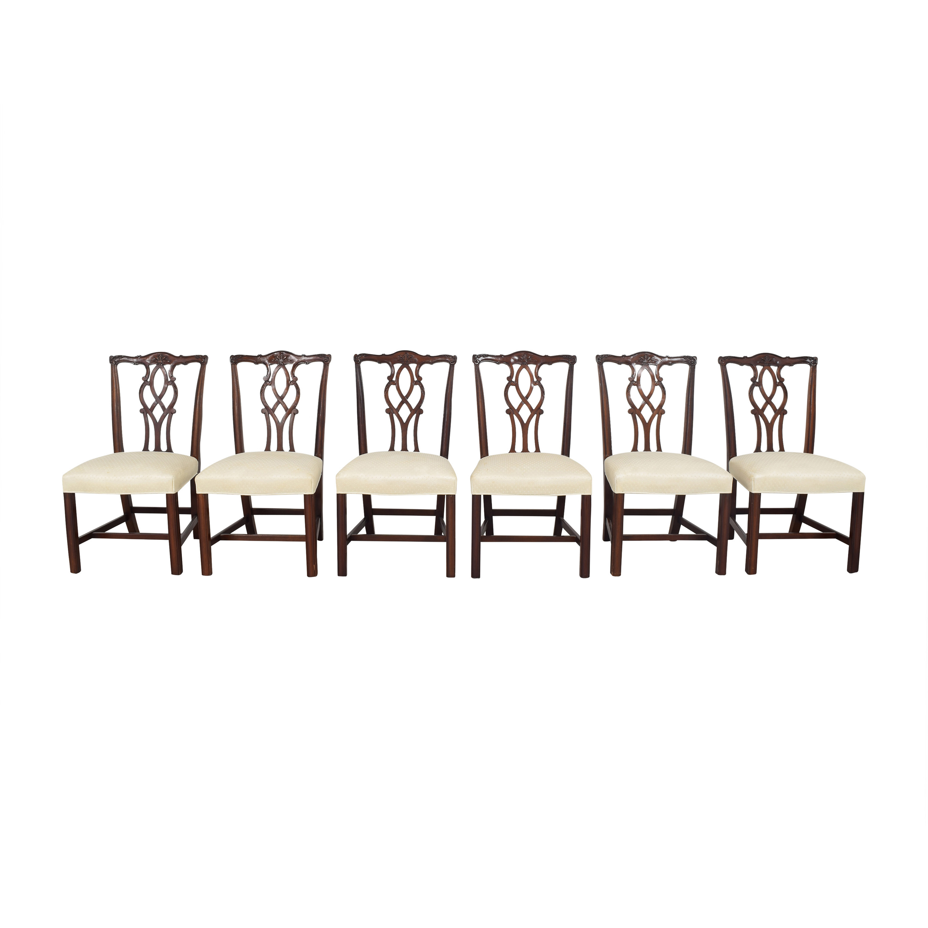 Kindel Kindel Chippendale Dining Side Chairs ma