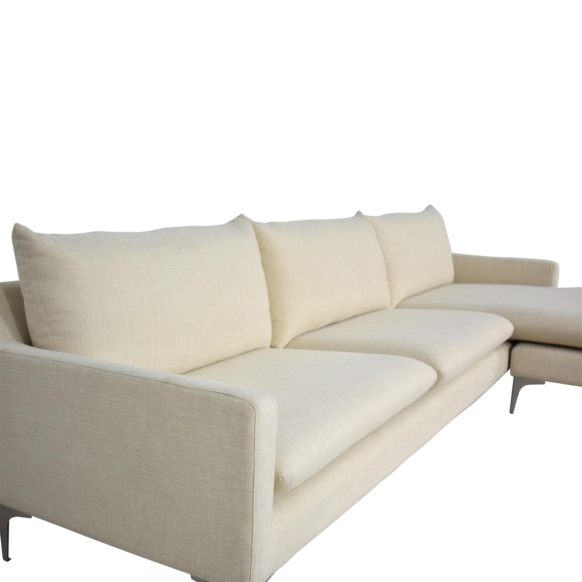 shop Nuevo Anders Sectional Sofa Nuevo