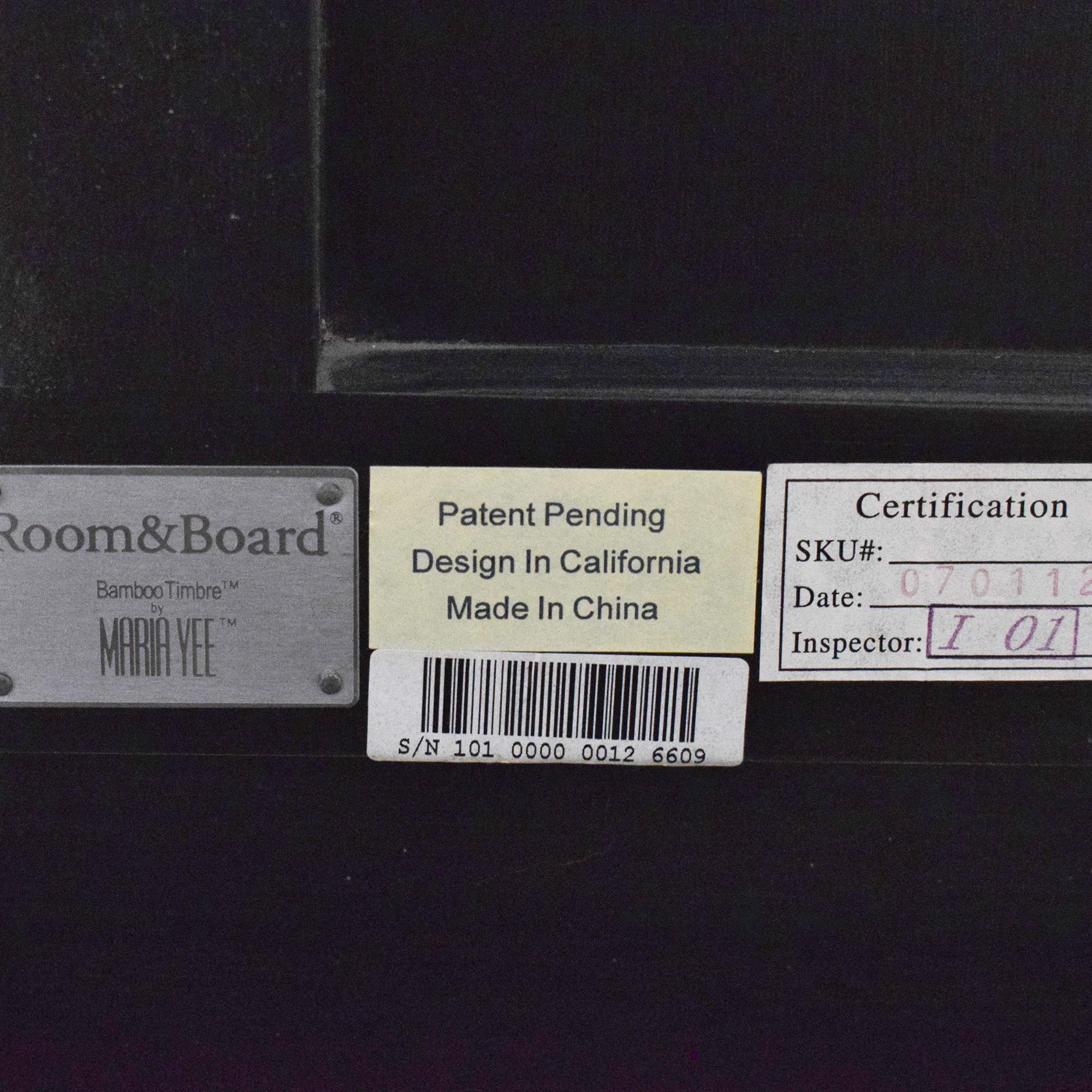 Room & Board Room & Board Maria Yee King Bed dark brown