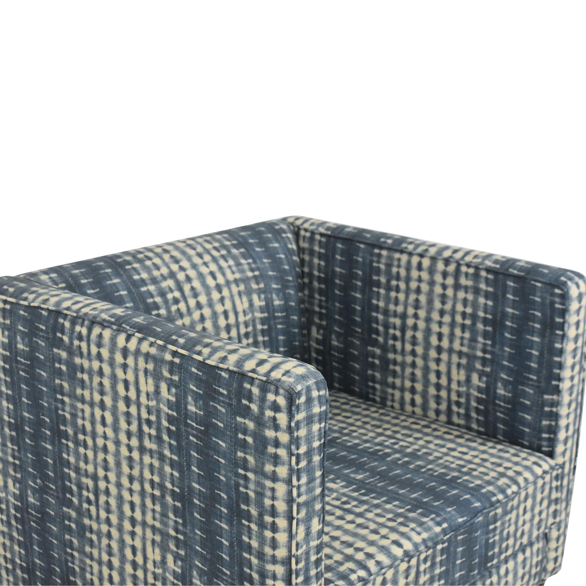 The Inside The Inside Shibori Tuxedo Chair pa