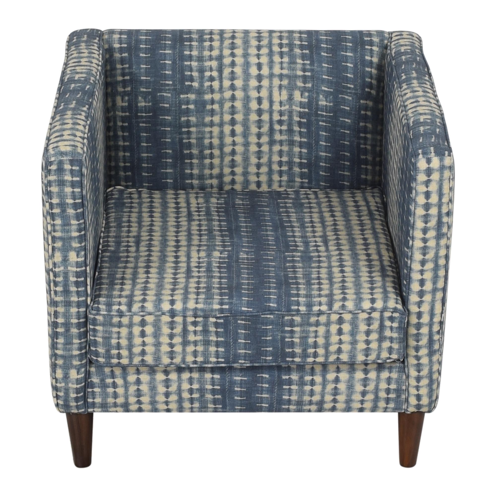 shop The Inside Shibori Tuxedo Chair The Inside