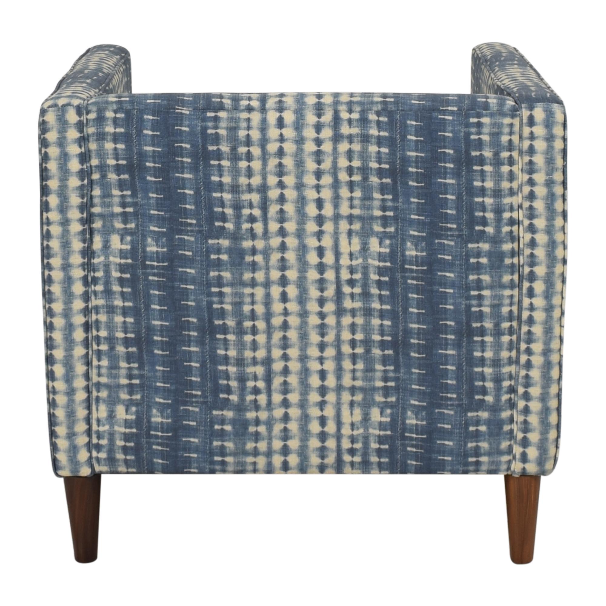 The Inside The Inside Shibori Tuxedo Chair Chairs