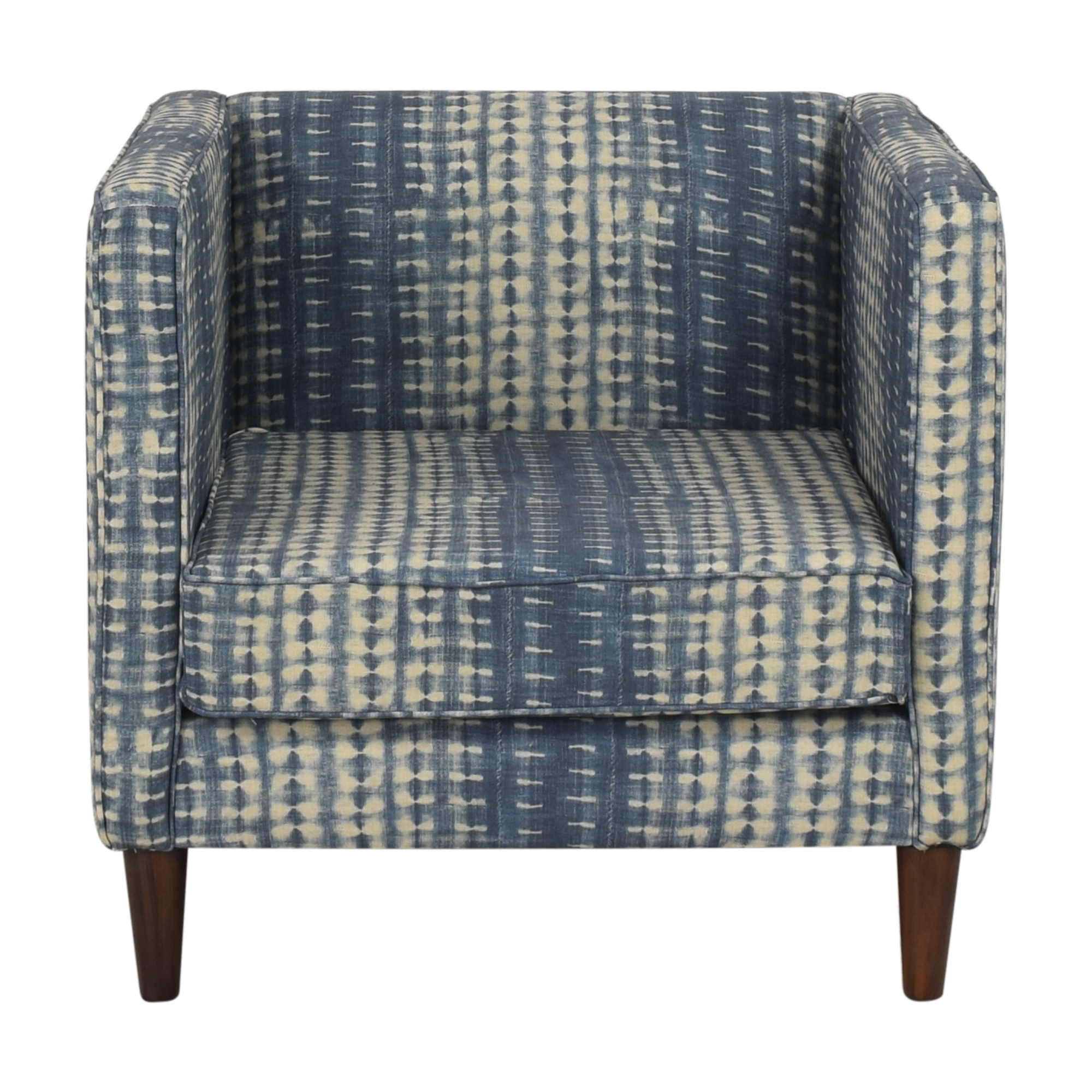 buy The Inside Shibori Tuxedo Chair The Inside Accent Chairs