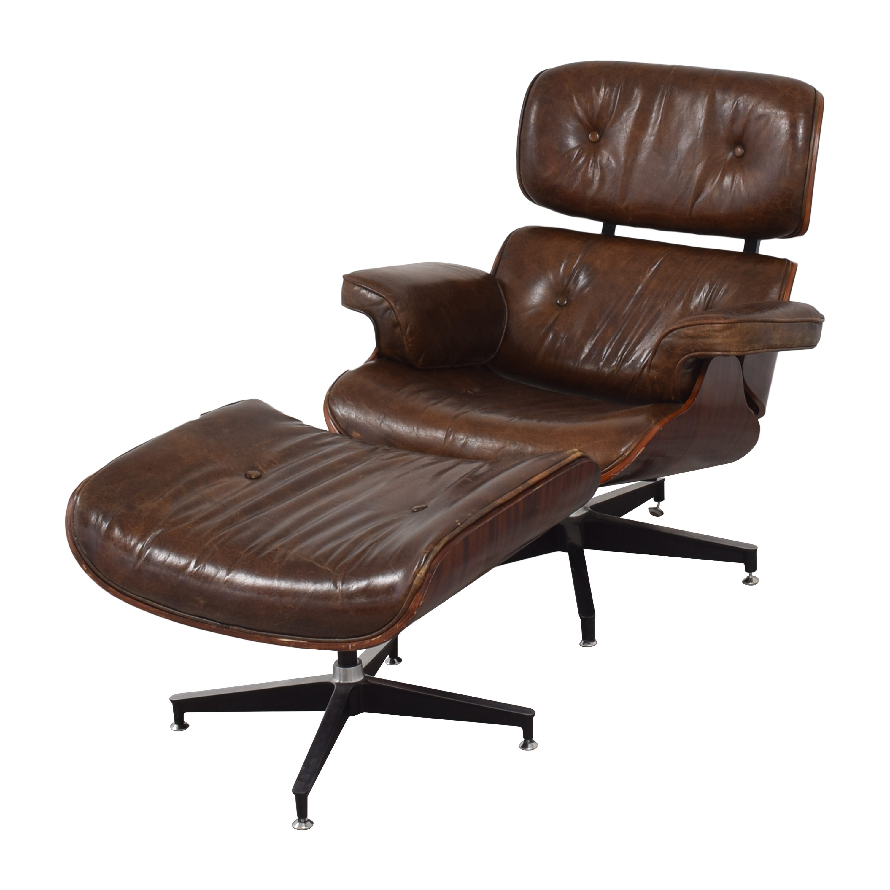 Eames-Style Chair with Ottoman / Accent Chairs