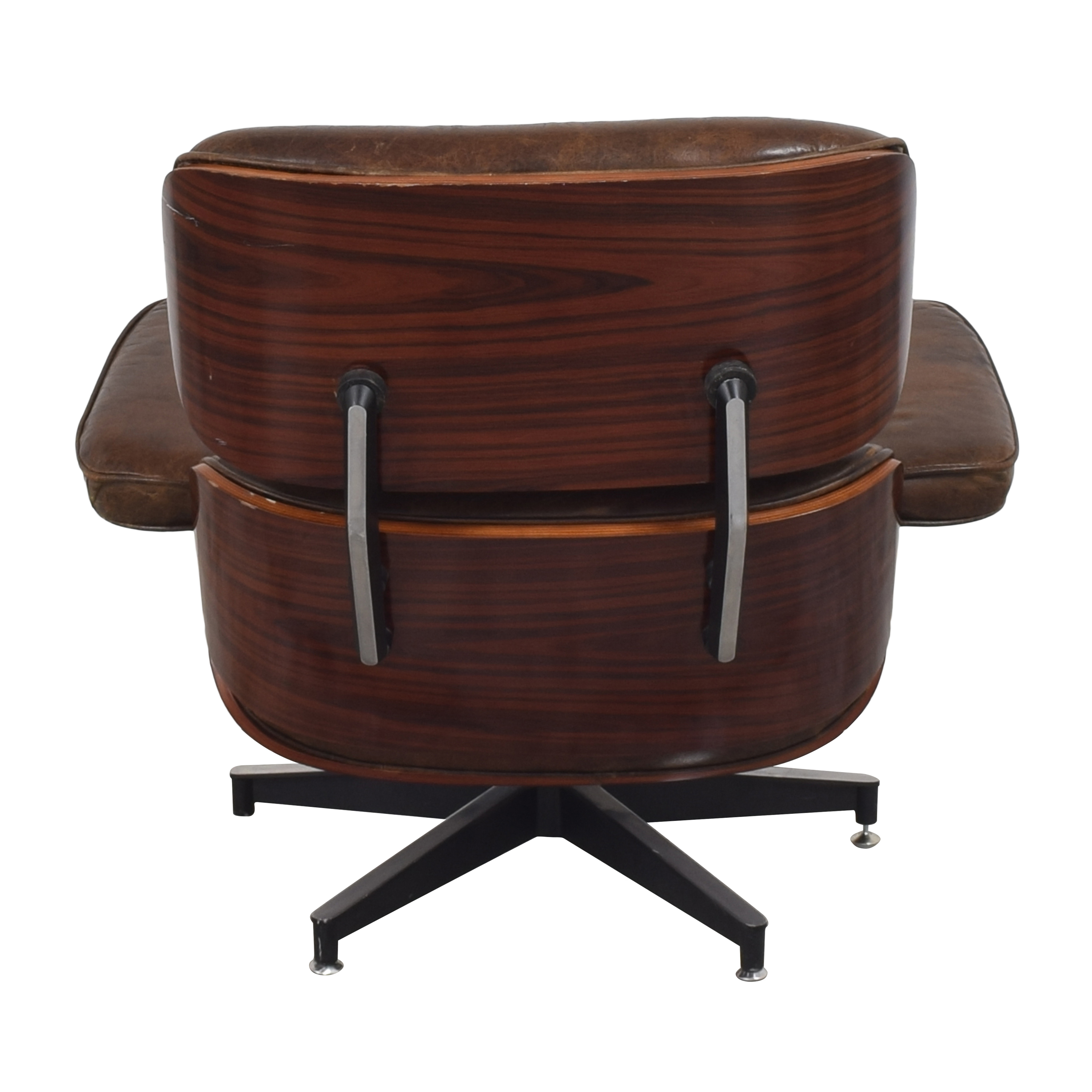 Eames-Style Chair with Ottoman discount