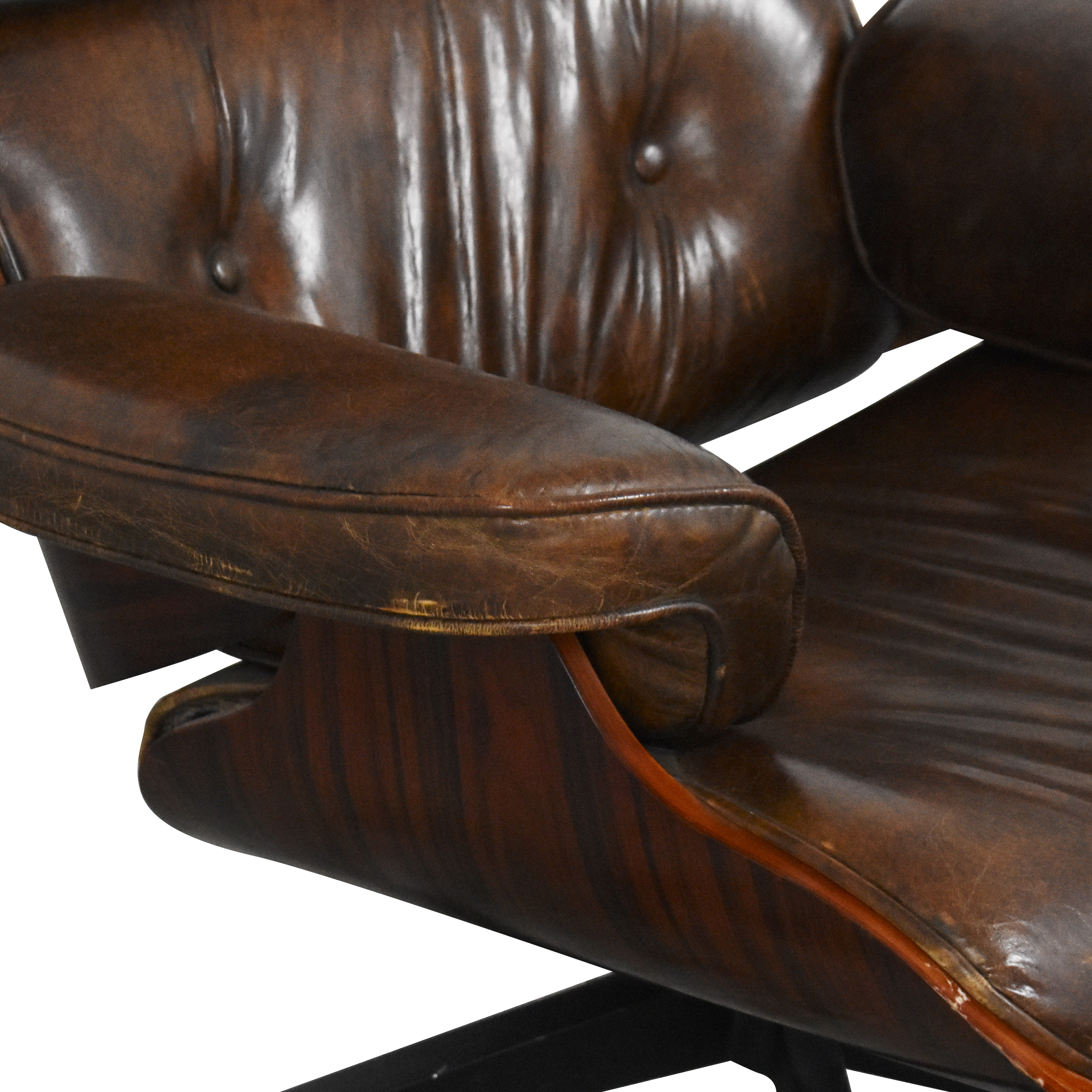 shop Eames-Style Chair with Ottoman  Chairs