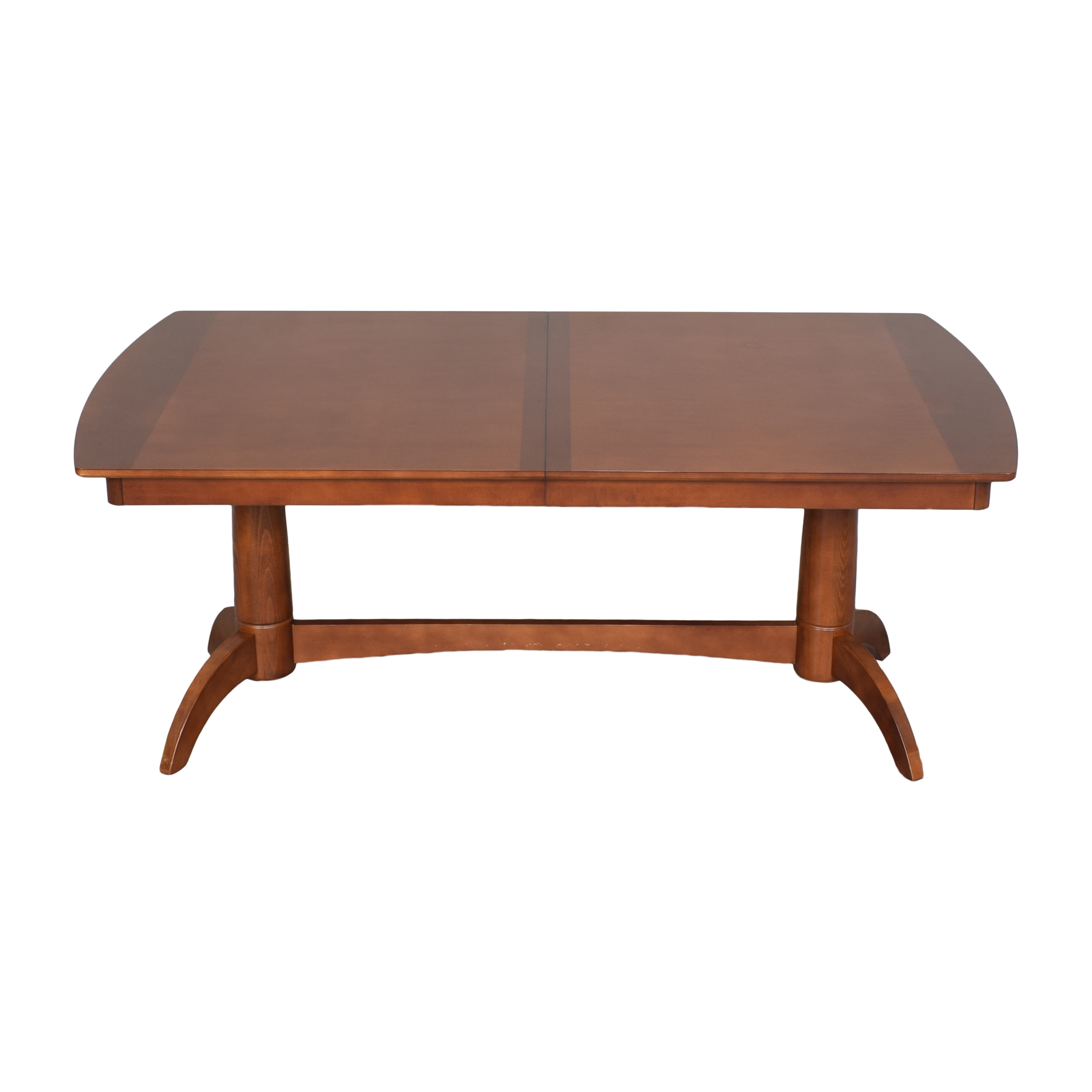 Extendable Trestle Dining Table on sale