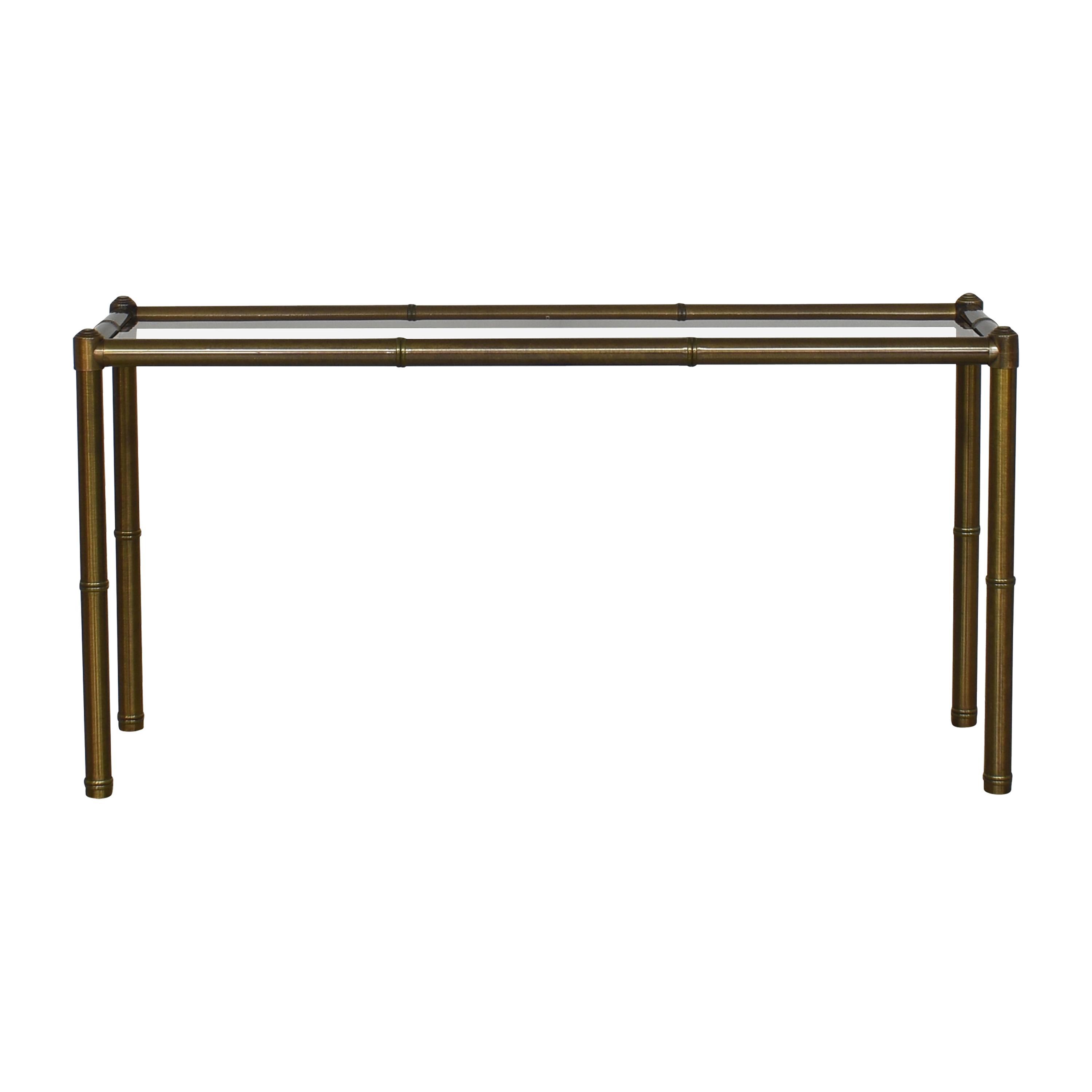 buy Bamboo-Style Console Table