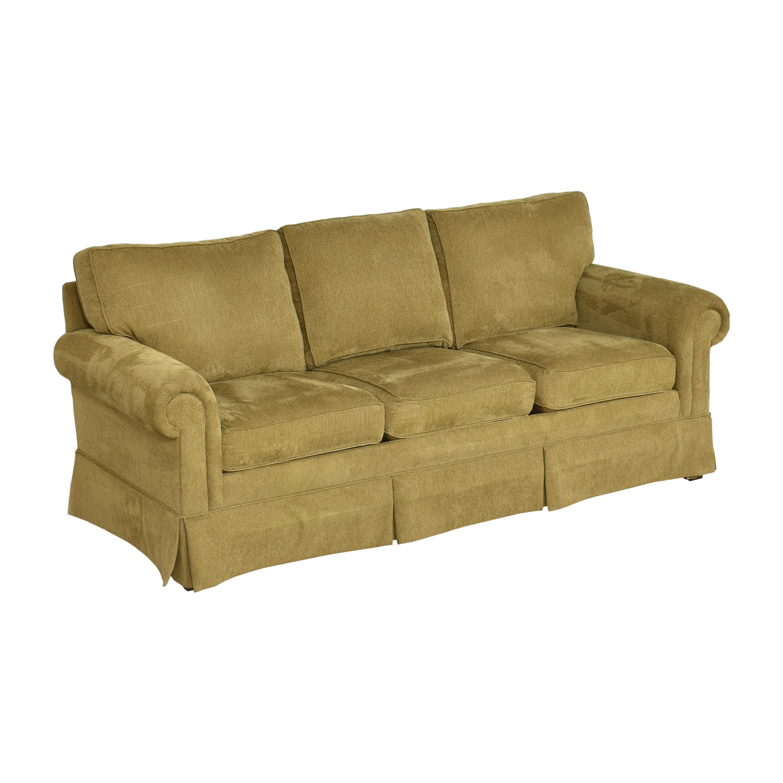 Ethen Allen Hastings Three Cushion Sofa Ethan Allen