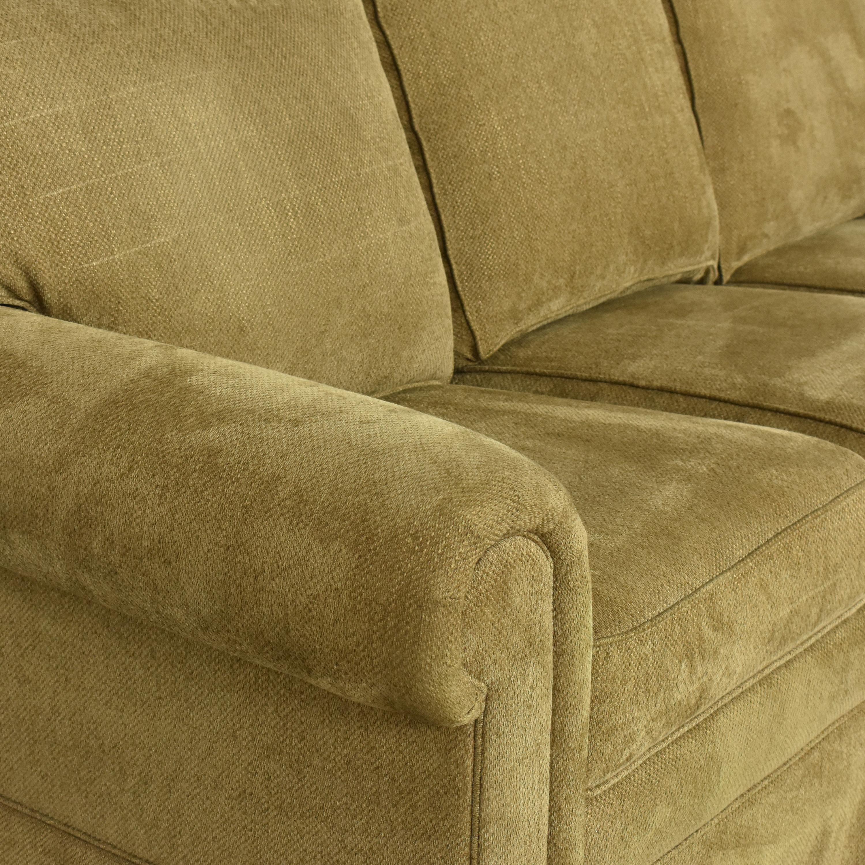Ethan Allen Ethen Allen Hastings Three Cushion Sofa ct