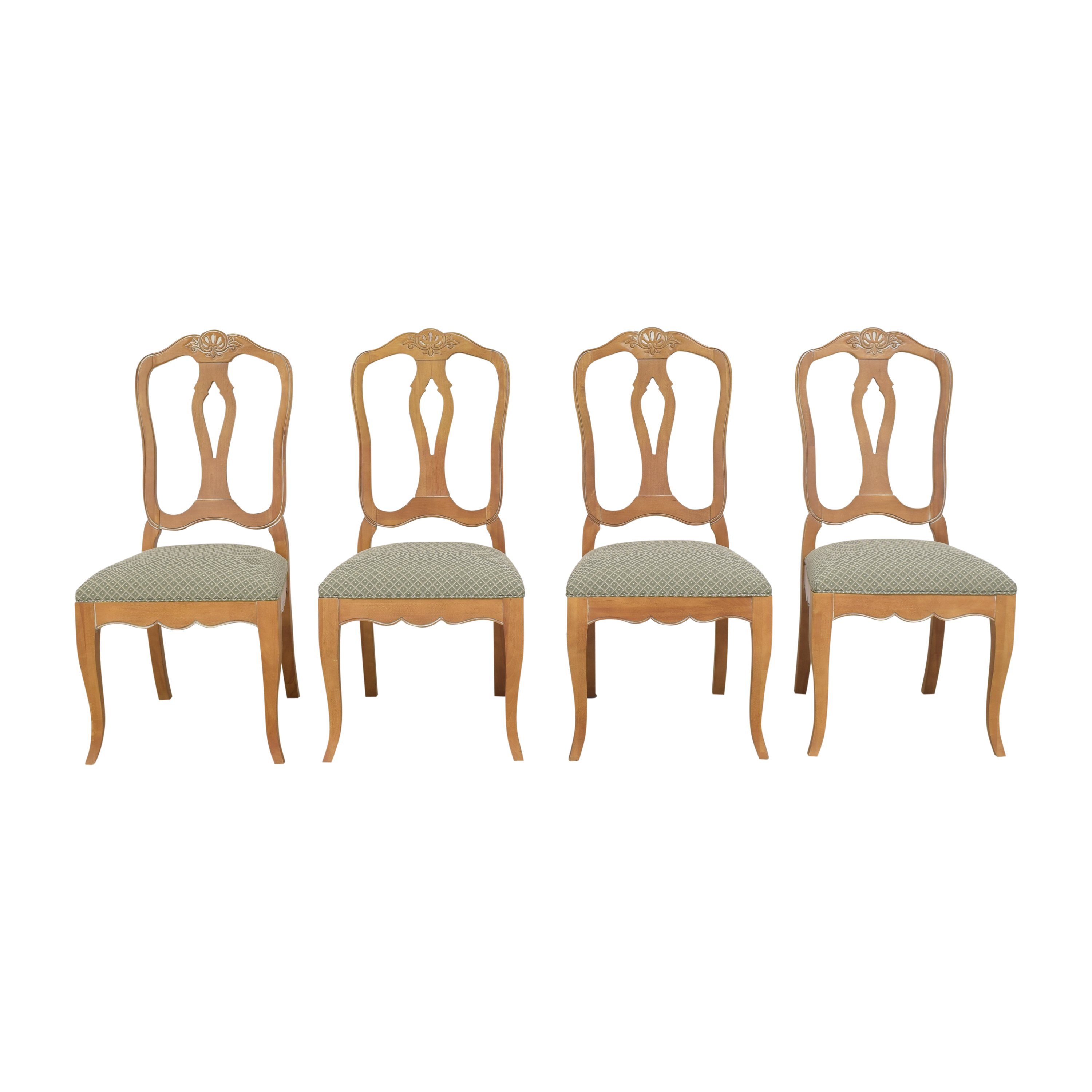 Ethan Allen Ethan Allen Country French Dining Side Chairs on sale
