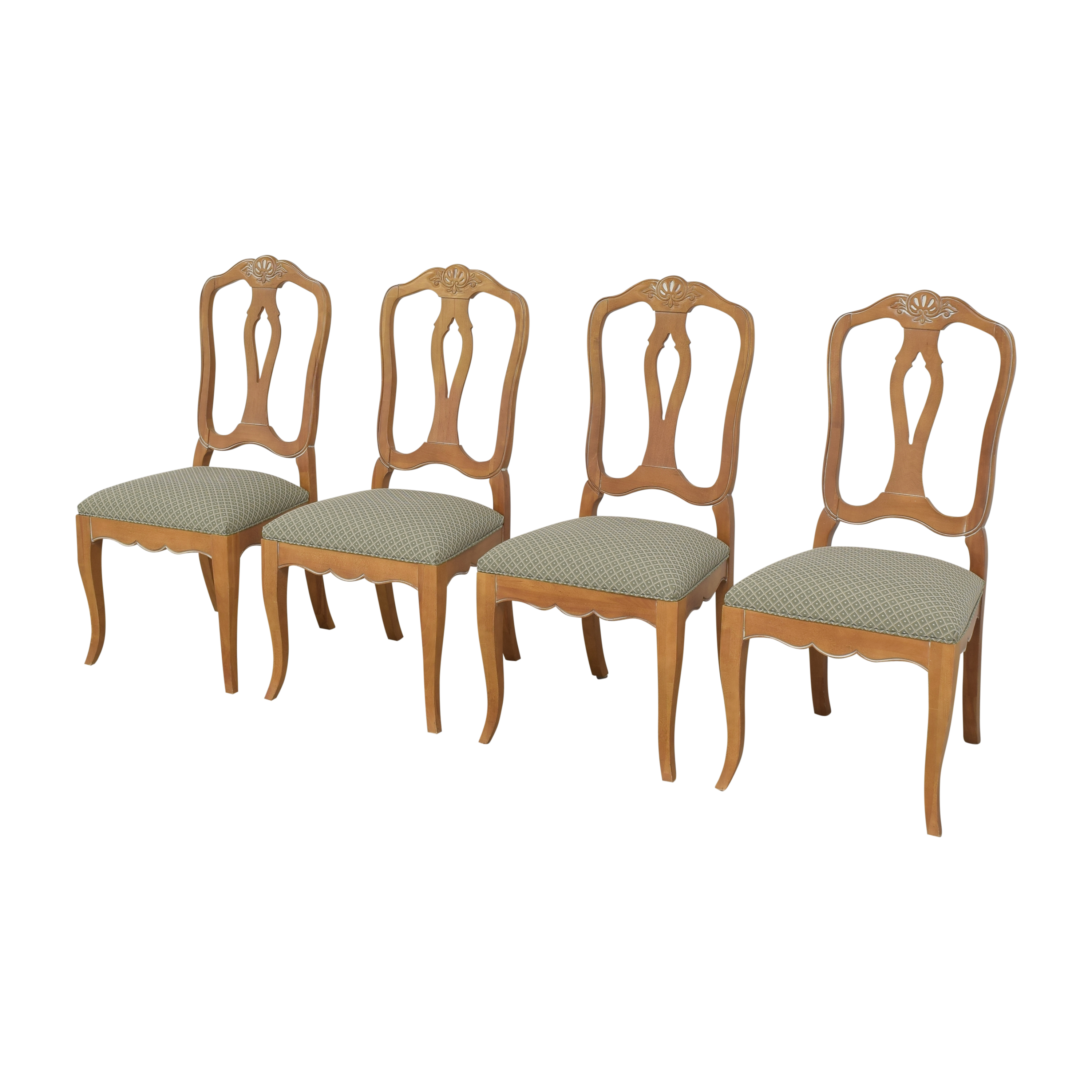 Ethan Allen Ethan Allen Country French Dining Side Chairs discount