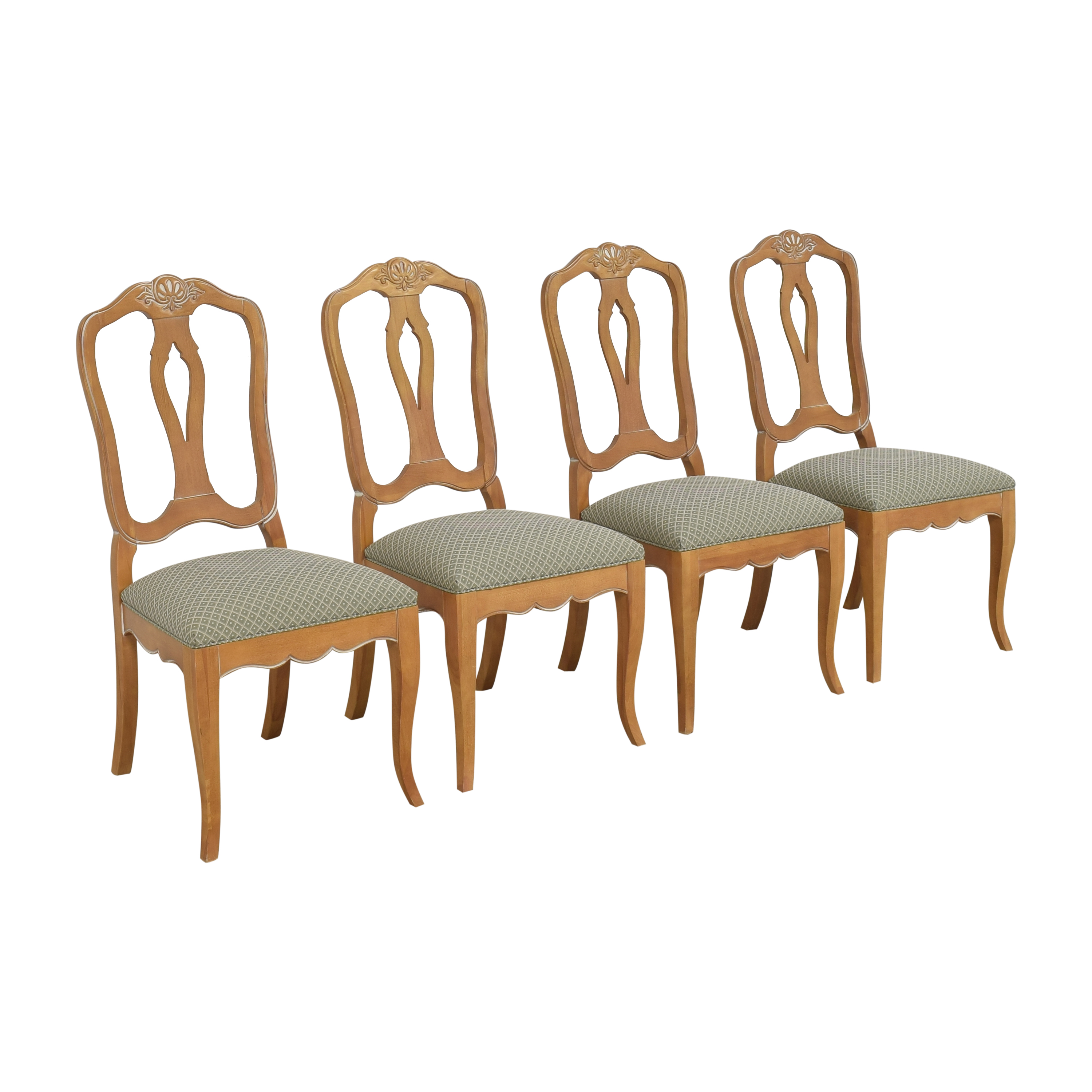 Ethan Allen Ethan Allen Country French Dining Side Chairs second hand