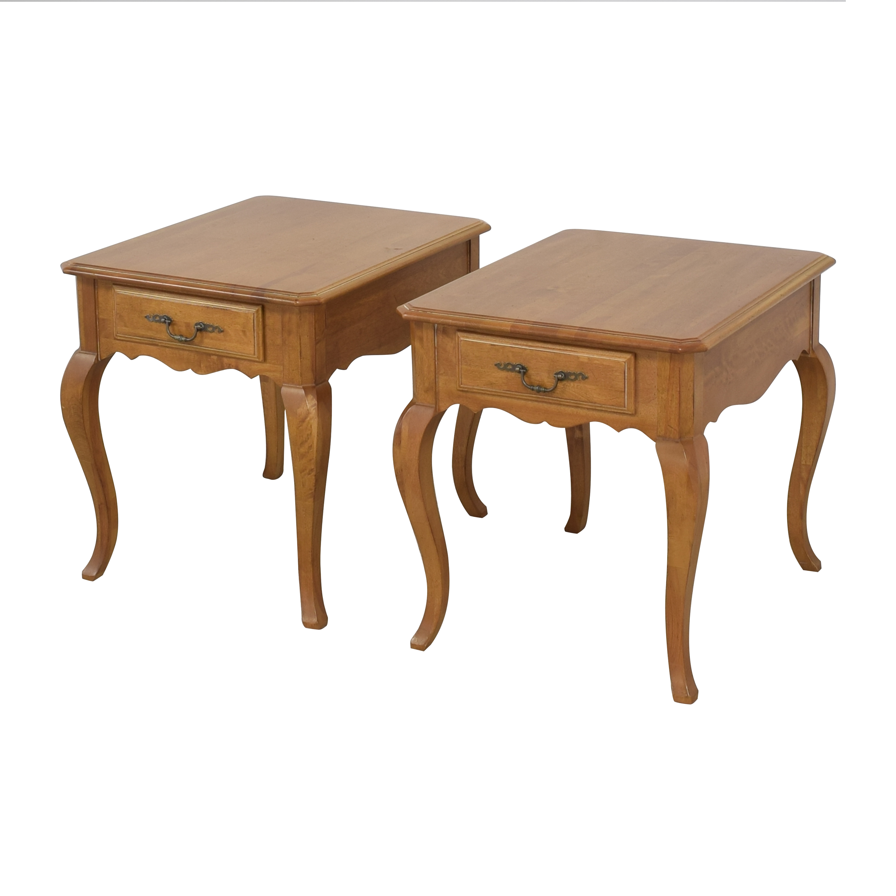 Ethan Allen Ethan Allen Country French Provence End Tables Tables