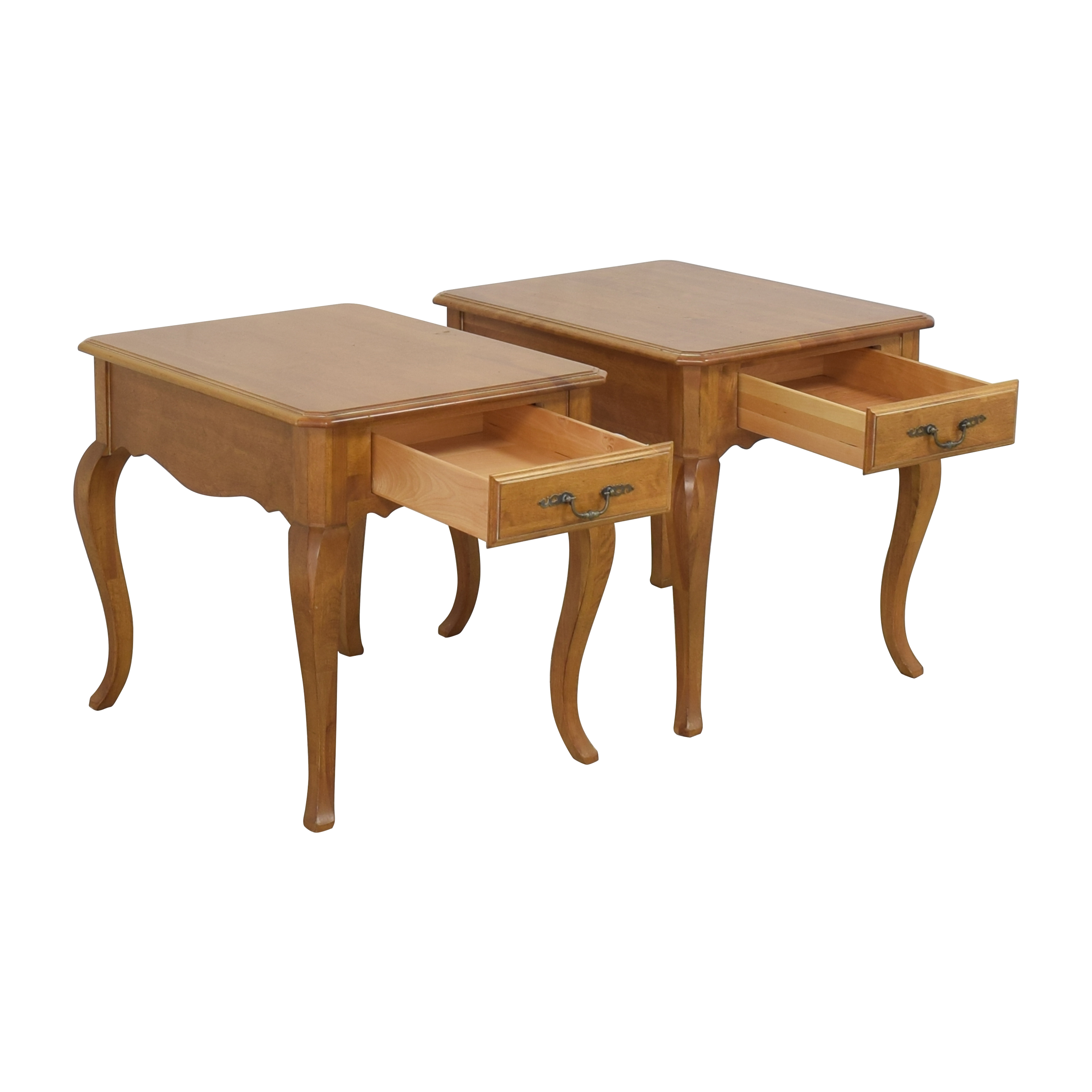 shop Ethan Allen Country French Provence End Tables Ethan Allen Tables