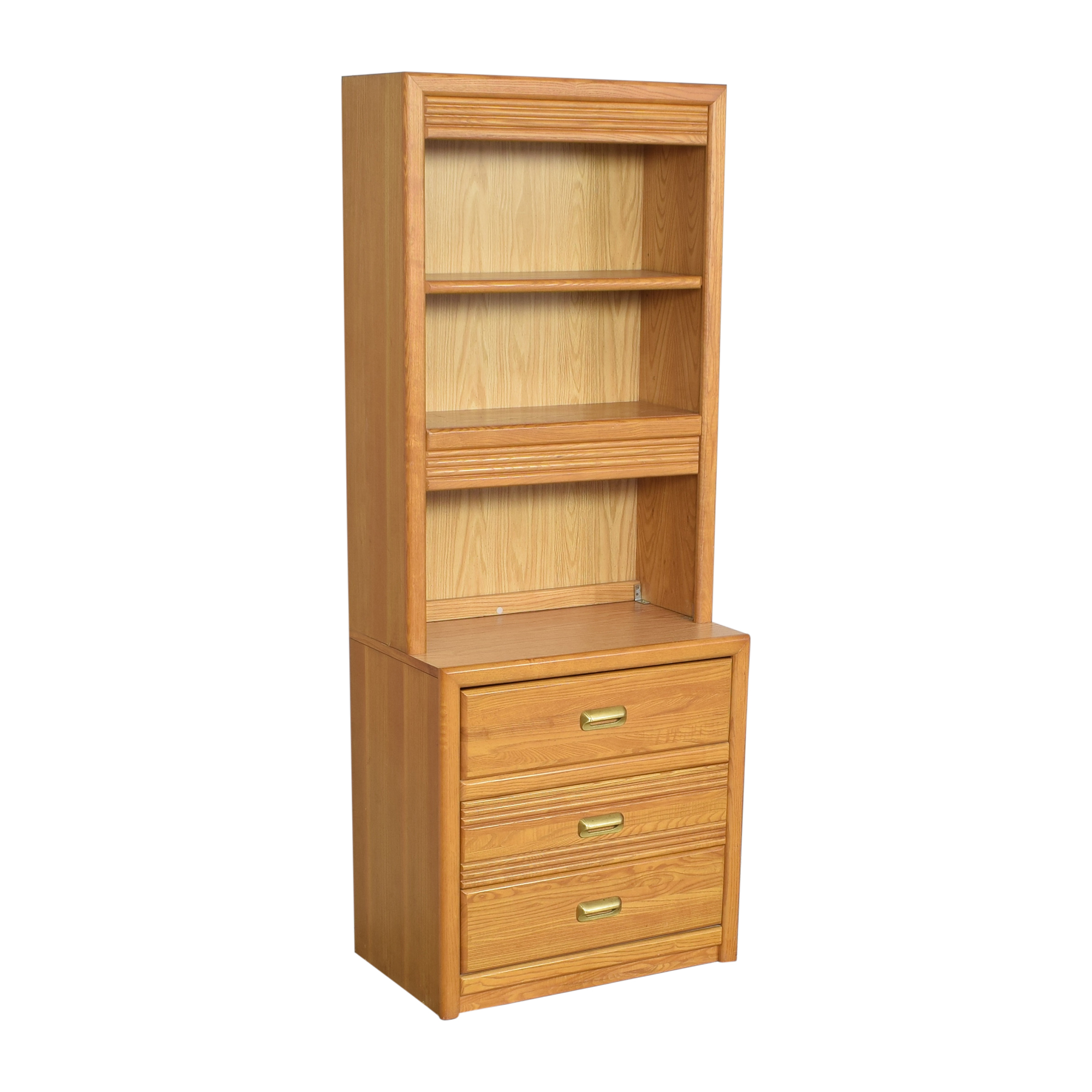 shop Bookcase with Three Drawers  Storage