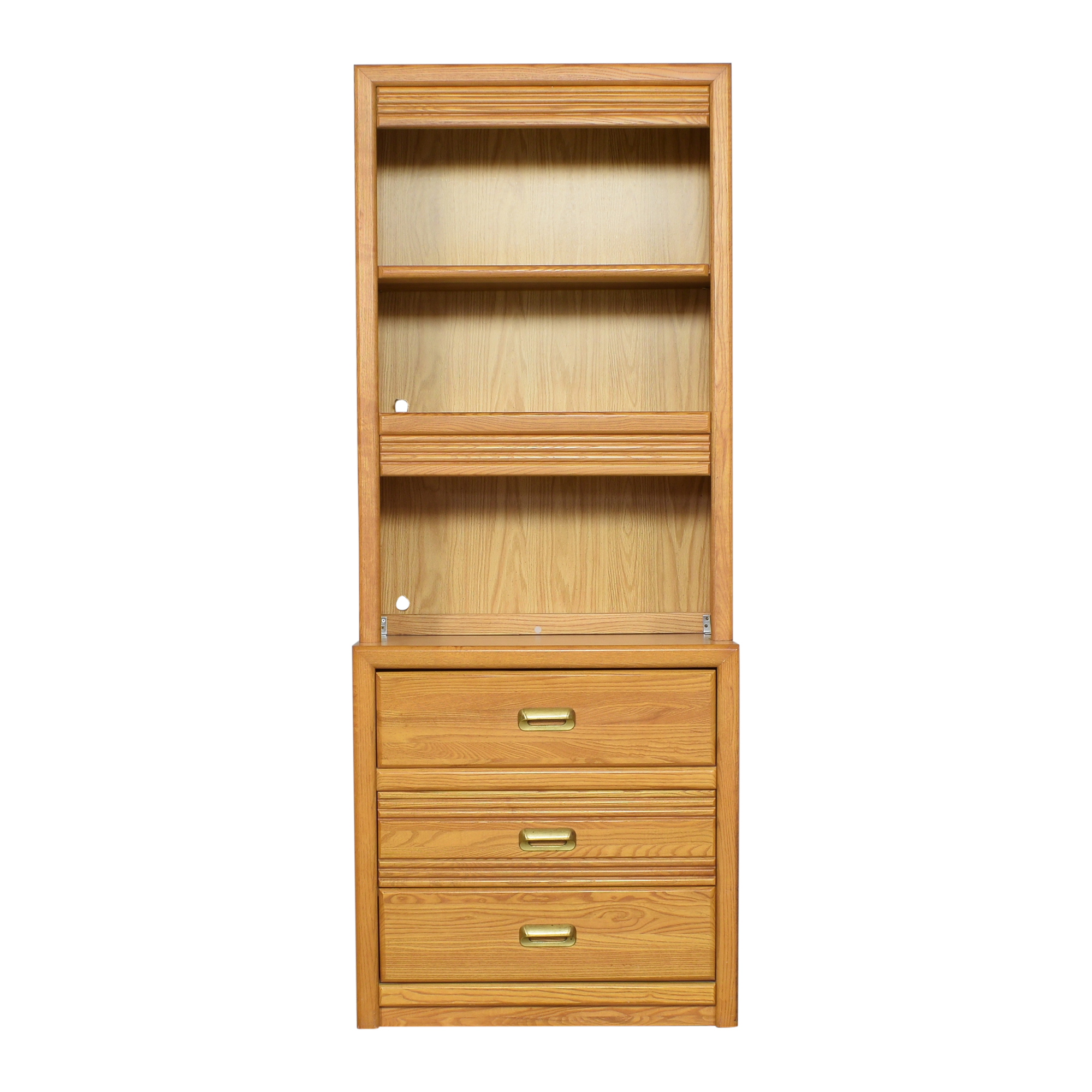 Bookcase with Three Drawers / Bookcases & Shelving