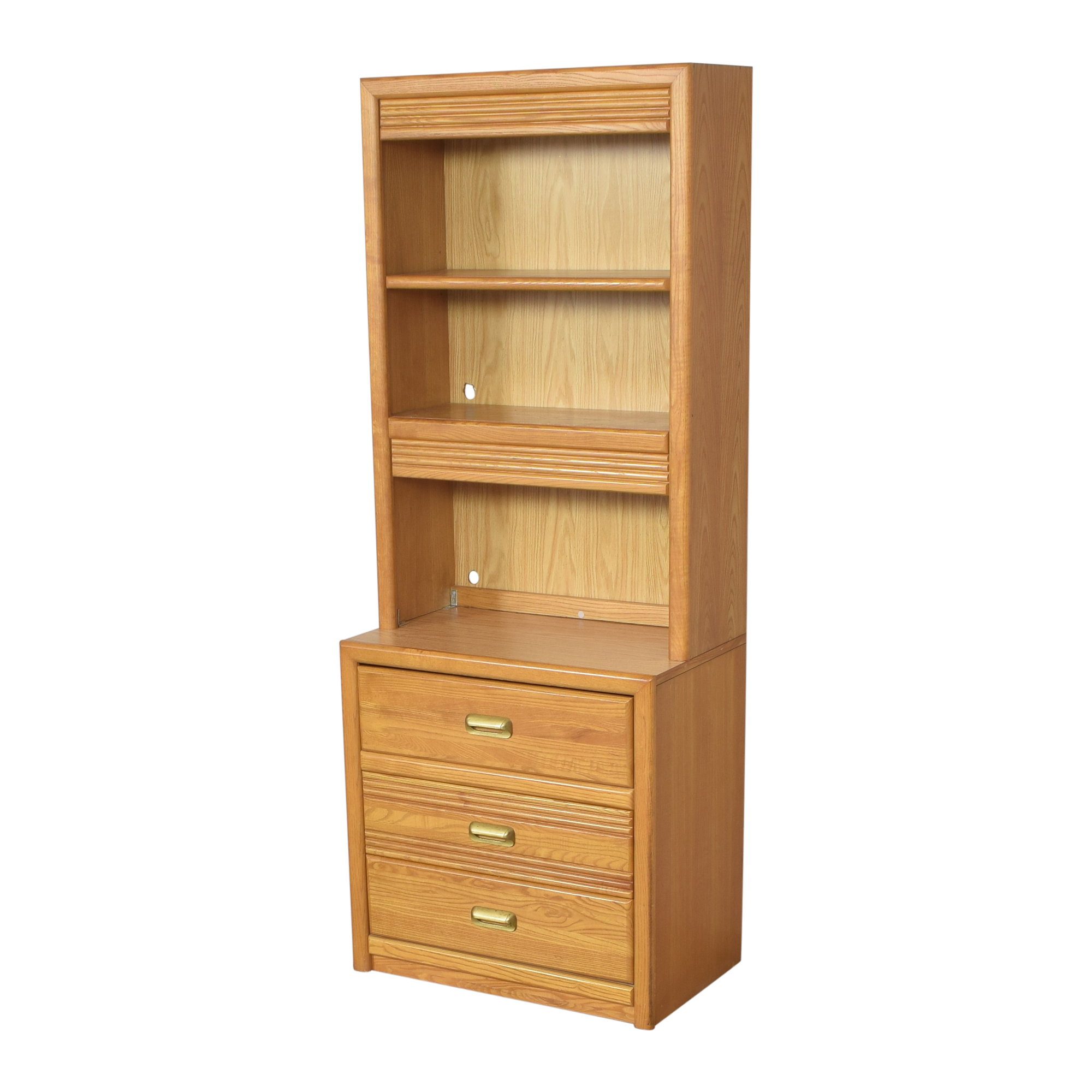 shop Bookcase with Three Drawers