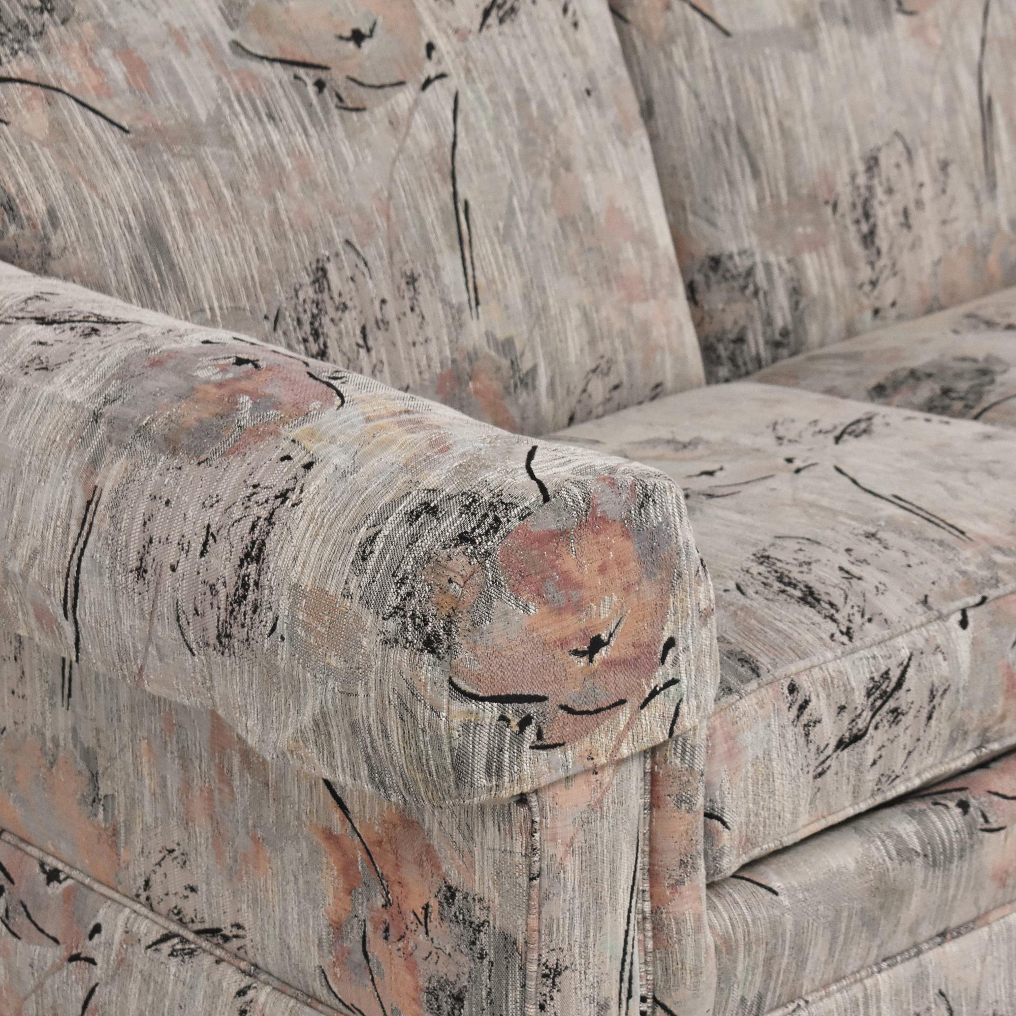 Ethan Allen Ethan Allen Traditional Classics Roll Arm Sofa ct