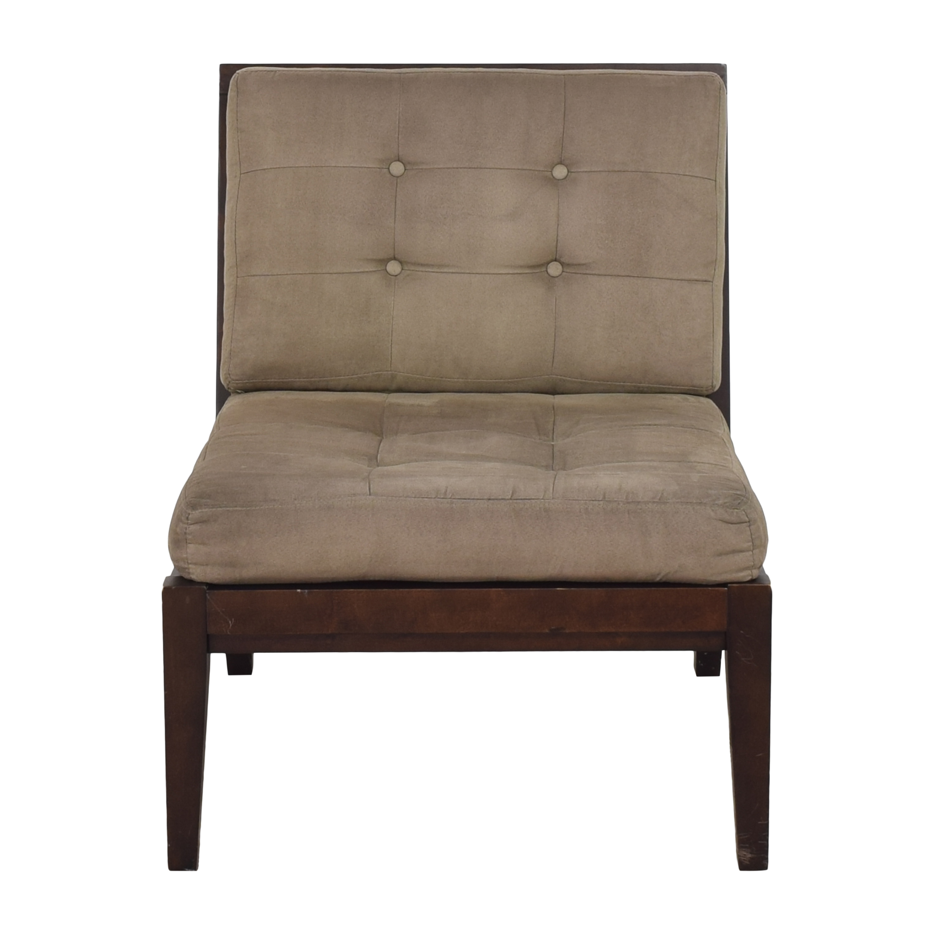 Crate & Barrel Crate & Barrel Tufted Lounge Chair ma