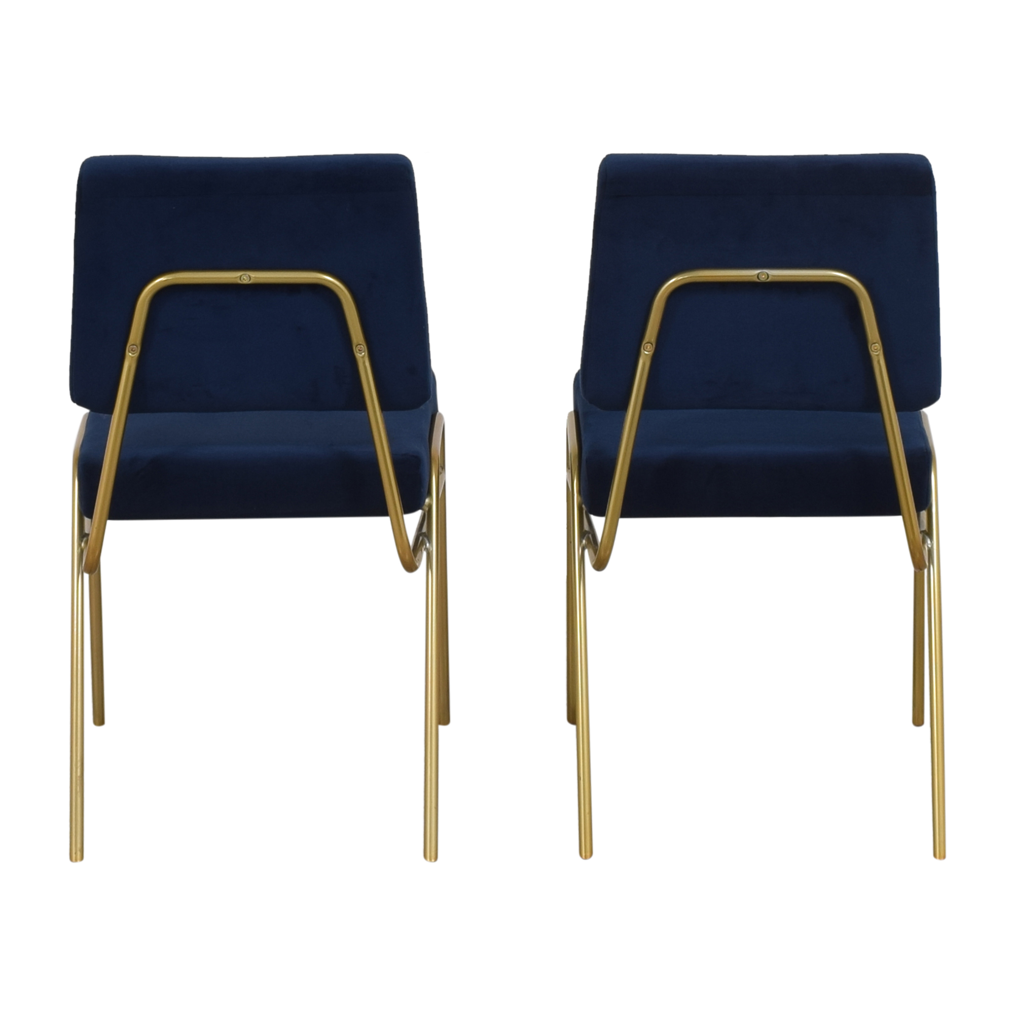 shop West Elm West Elm Wire Frame Upholstered Dining Chairs online