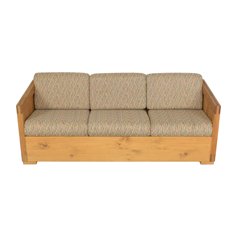 Workbench Workbench Three Cushion Sofa for sale