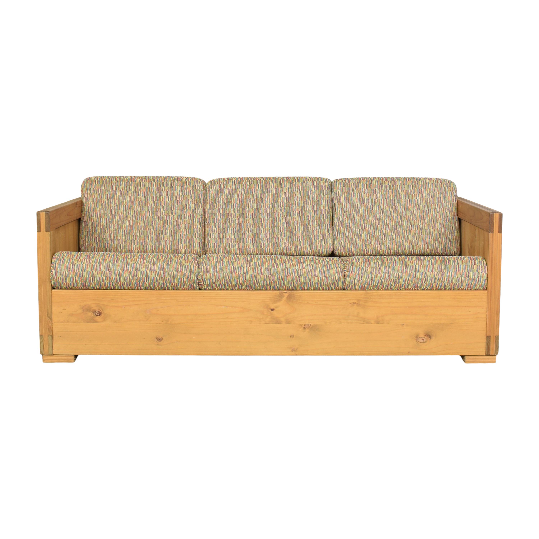 Workbench Workbench Three Cushion Sofa second hand