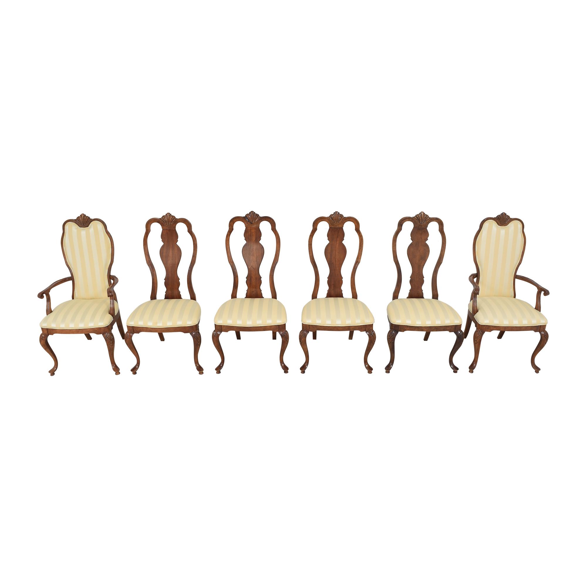 buy Bernhardt Queen Anne Dining Side Chairs Bernhardt