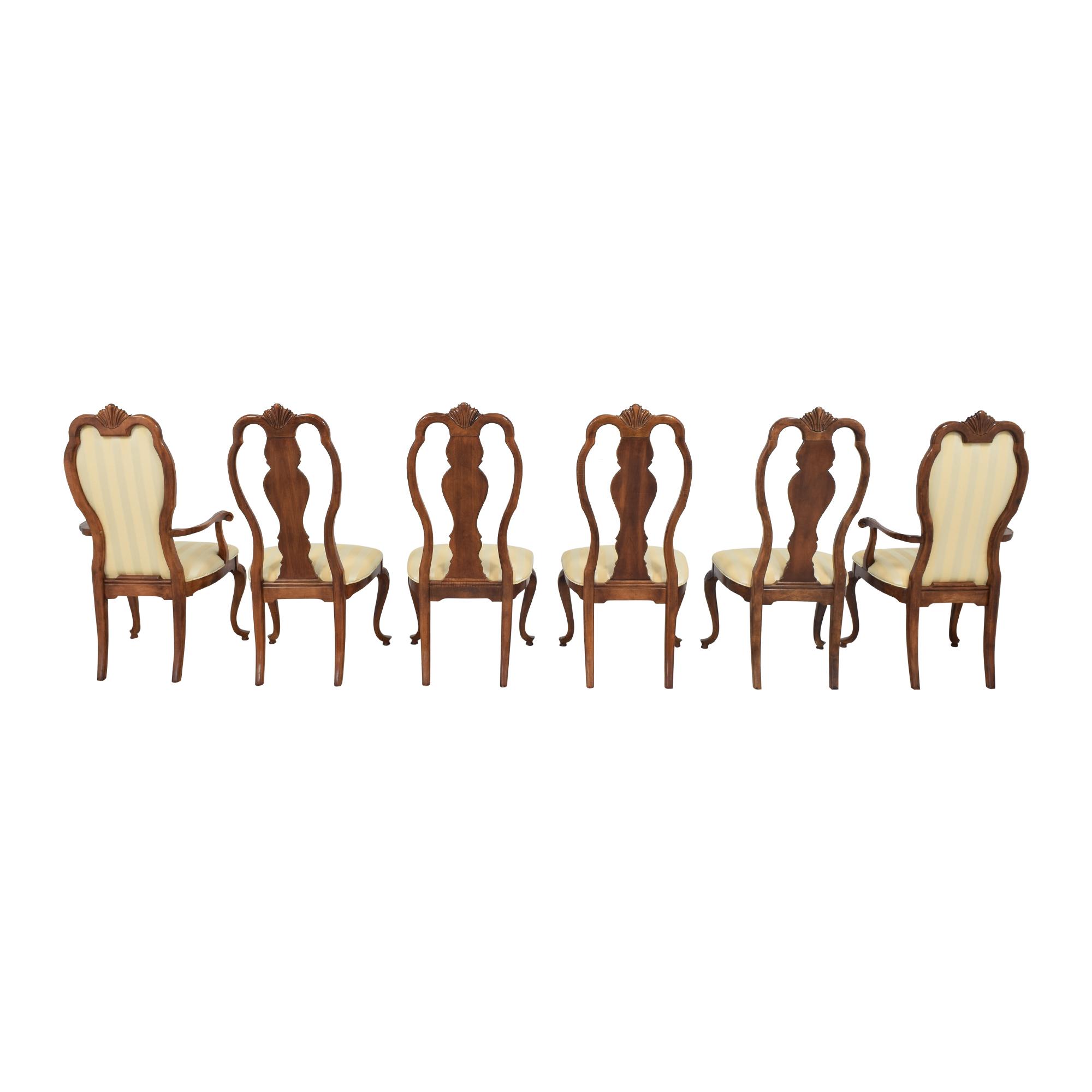 Bernhardt Bernhardt Queen Anne Dining Side Chairs ct