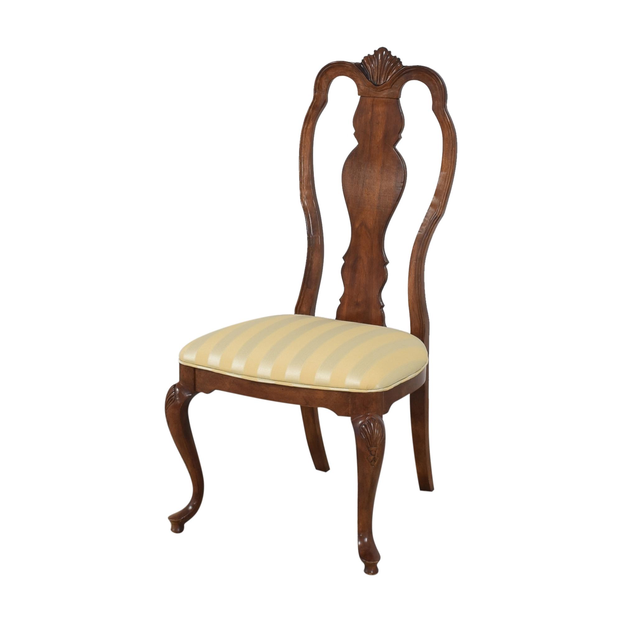 buy Bernhardt Queen Anne Dining Side Chairs Bernhardt Chairs