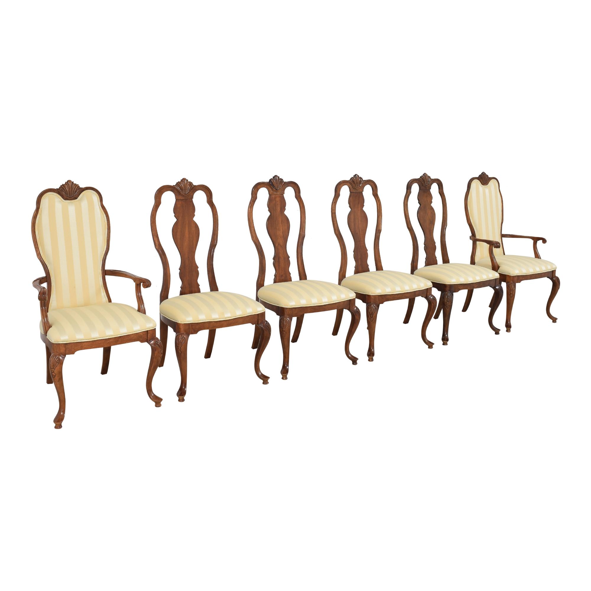 Bernhardt Bernhardt Queen Anne Dining Side Chairs multi